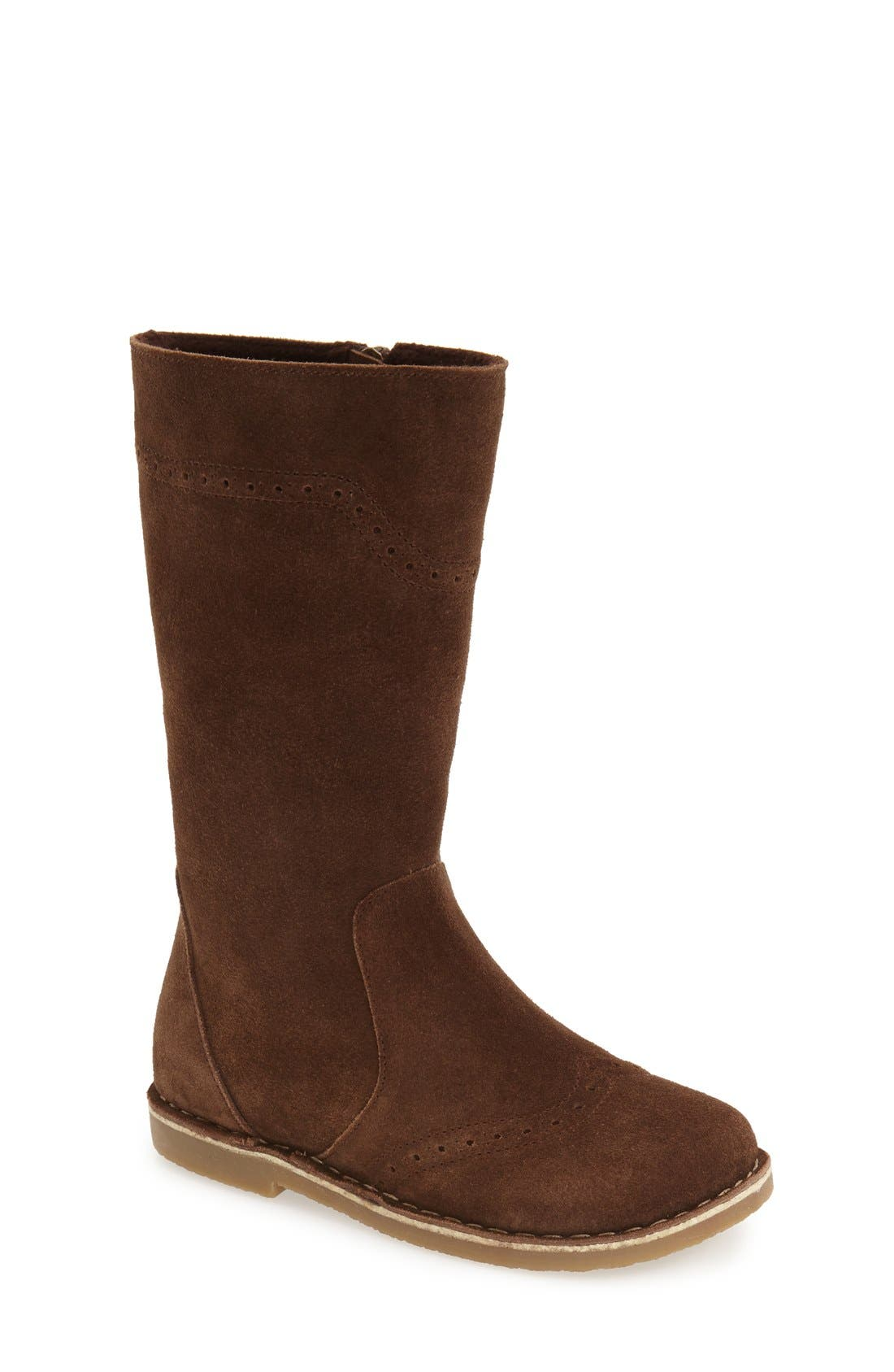 Tall Leather Boot,                             Main thumbnail 4, color,