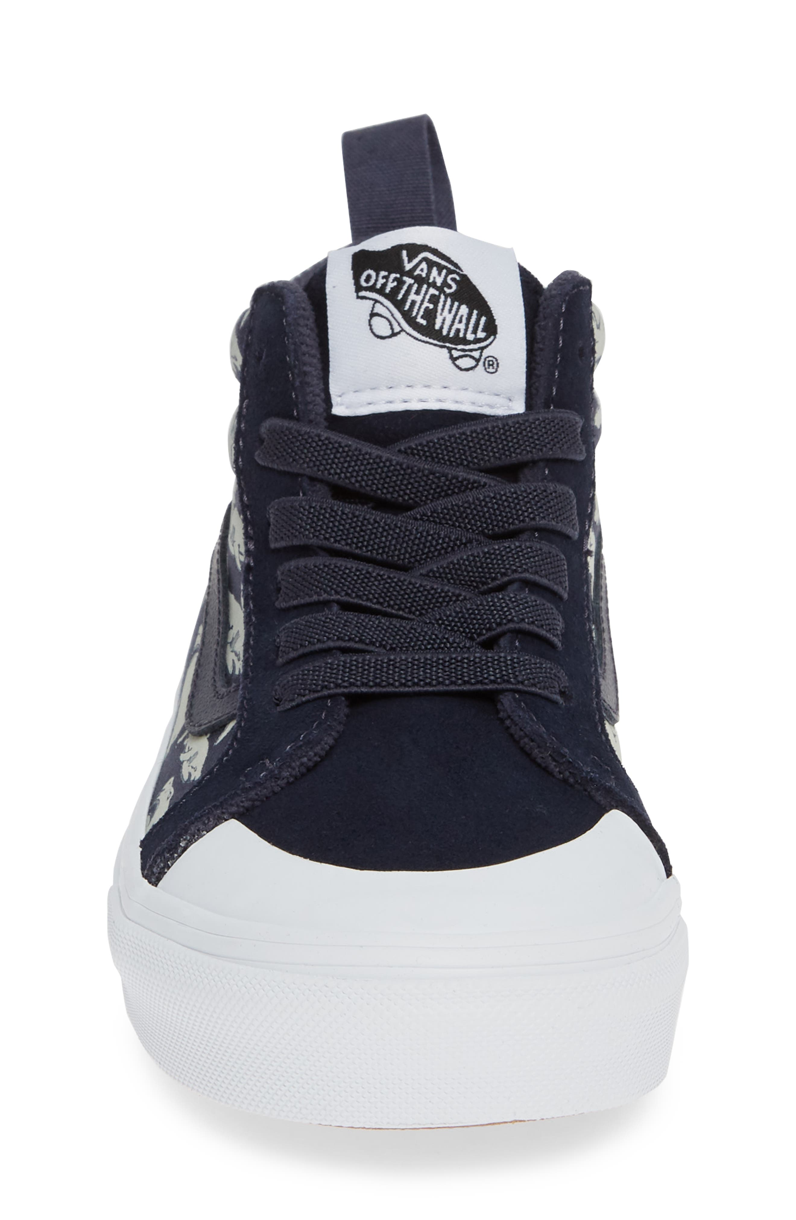 Racer Mid Elastic Lace Sneaker,                             Alternate thumbnail 26, color,