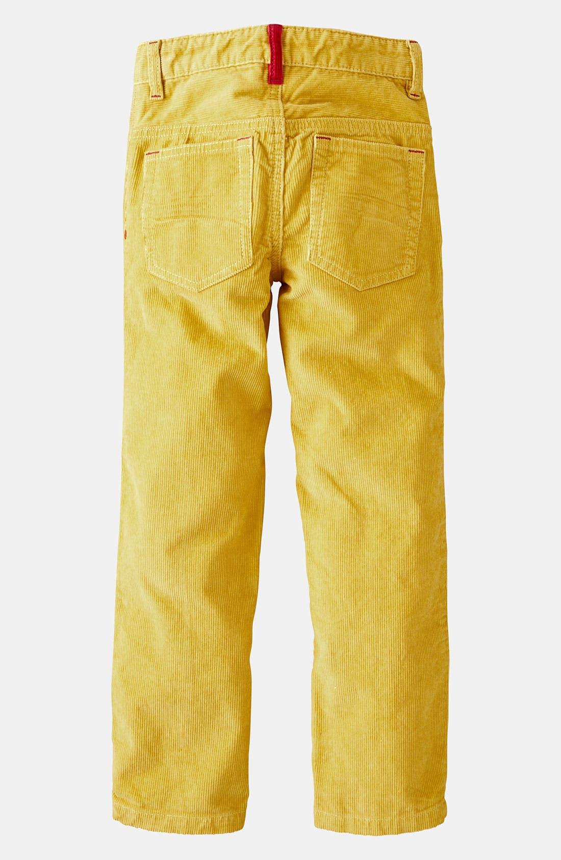 'Preppy' Slim Corduroy Pants,                             Alternate thumbnail 4, color,