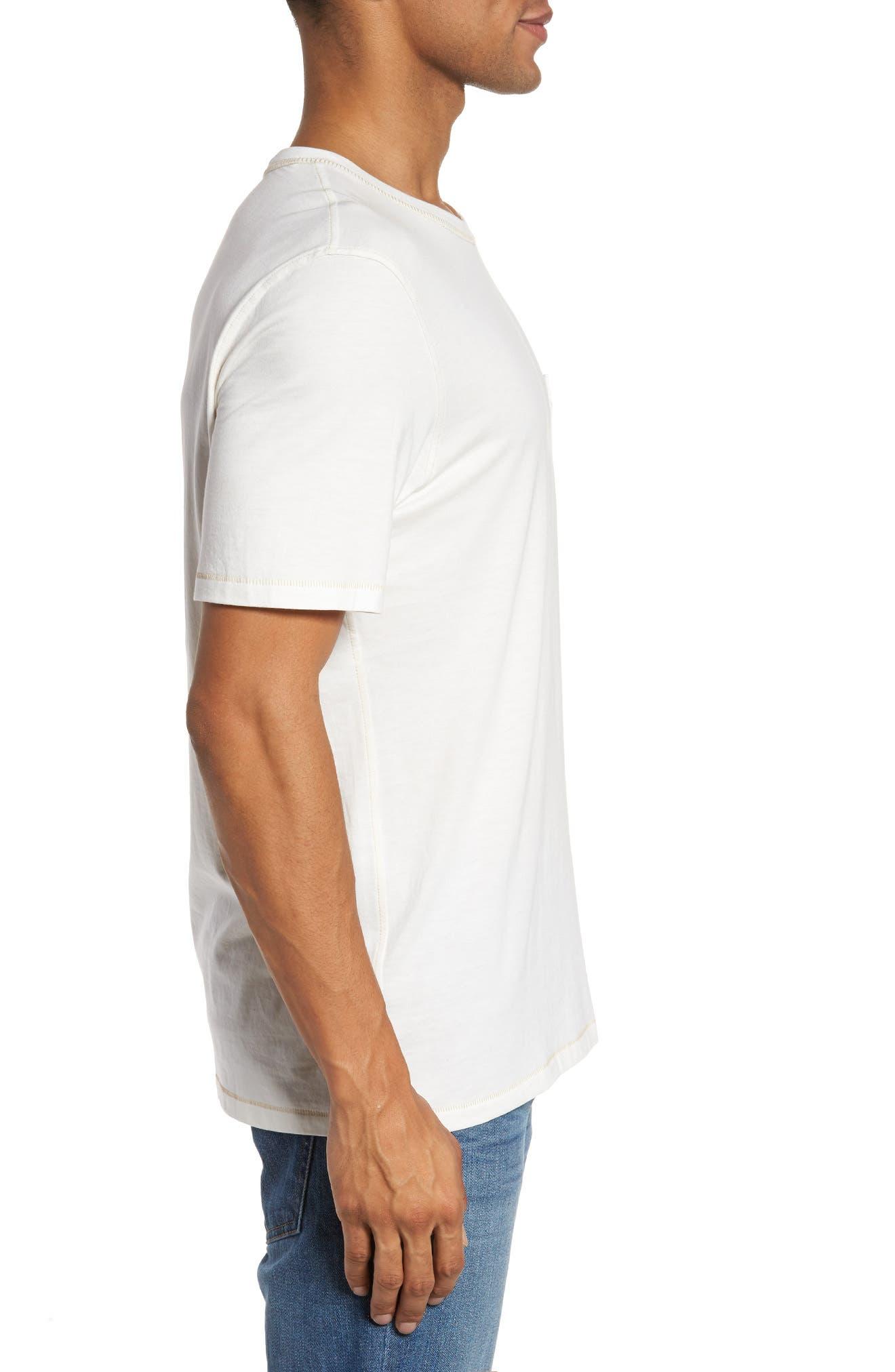 Crewneck T-Shirt,                             Alternate thumbnail 3, color,                             138
