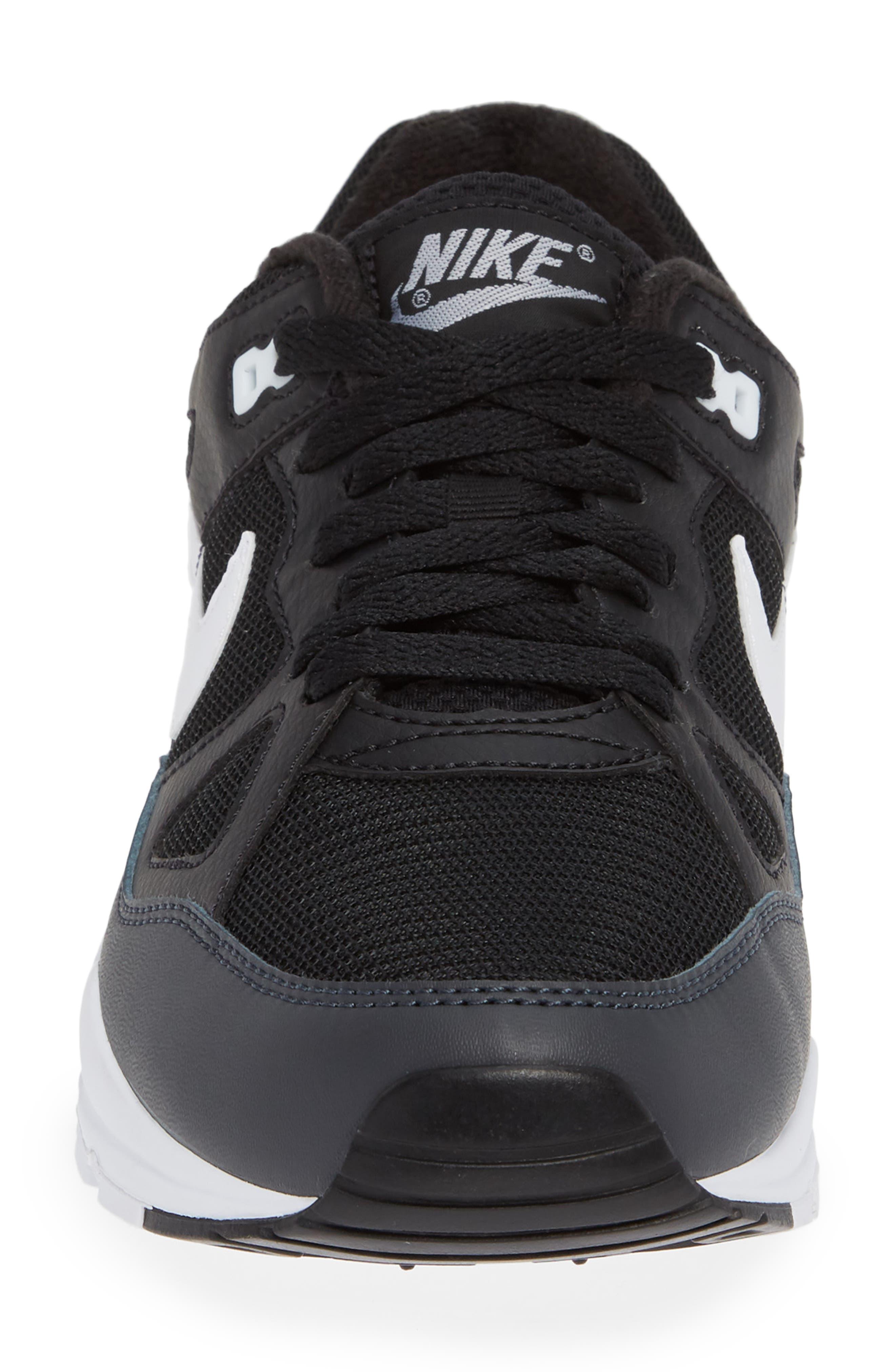 Air Span II Sneaker,                             Alternate thumbnail 4, color,                             BLACK/ WHITE/ ANTHRACITE