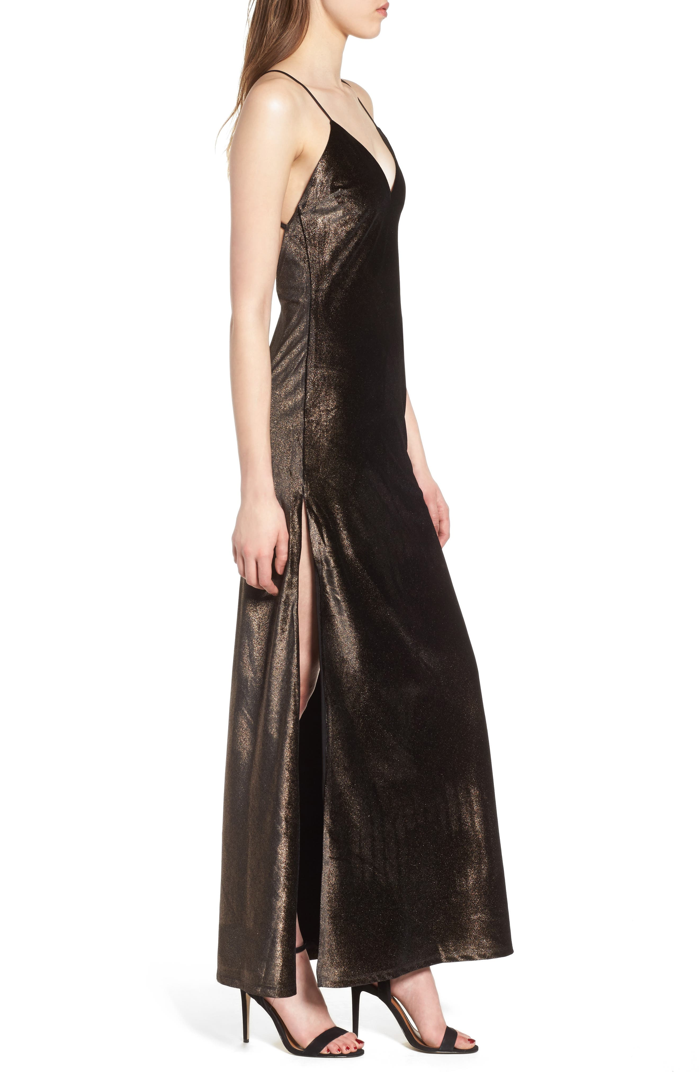 In the Deep Maxi Dress,                             Alternate thumbnail 3, color,                             250