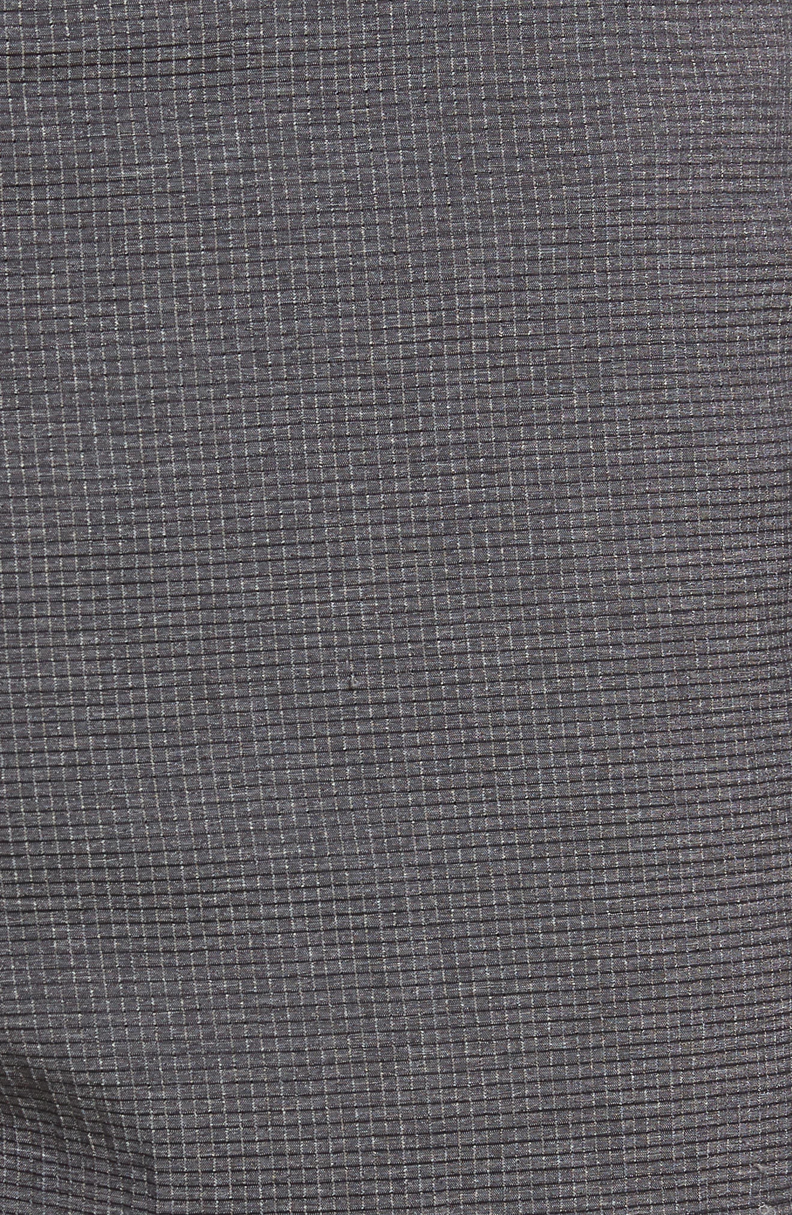 Peel Out Shorts,                             Alternate thumbnail 5, color,                             GREY PINSTRIPE