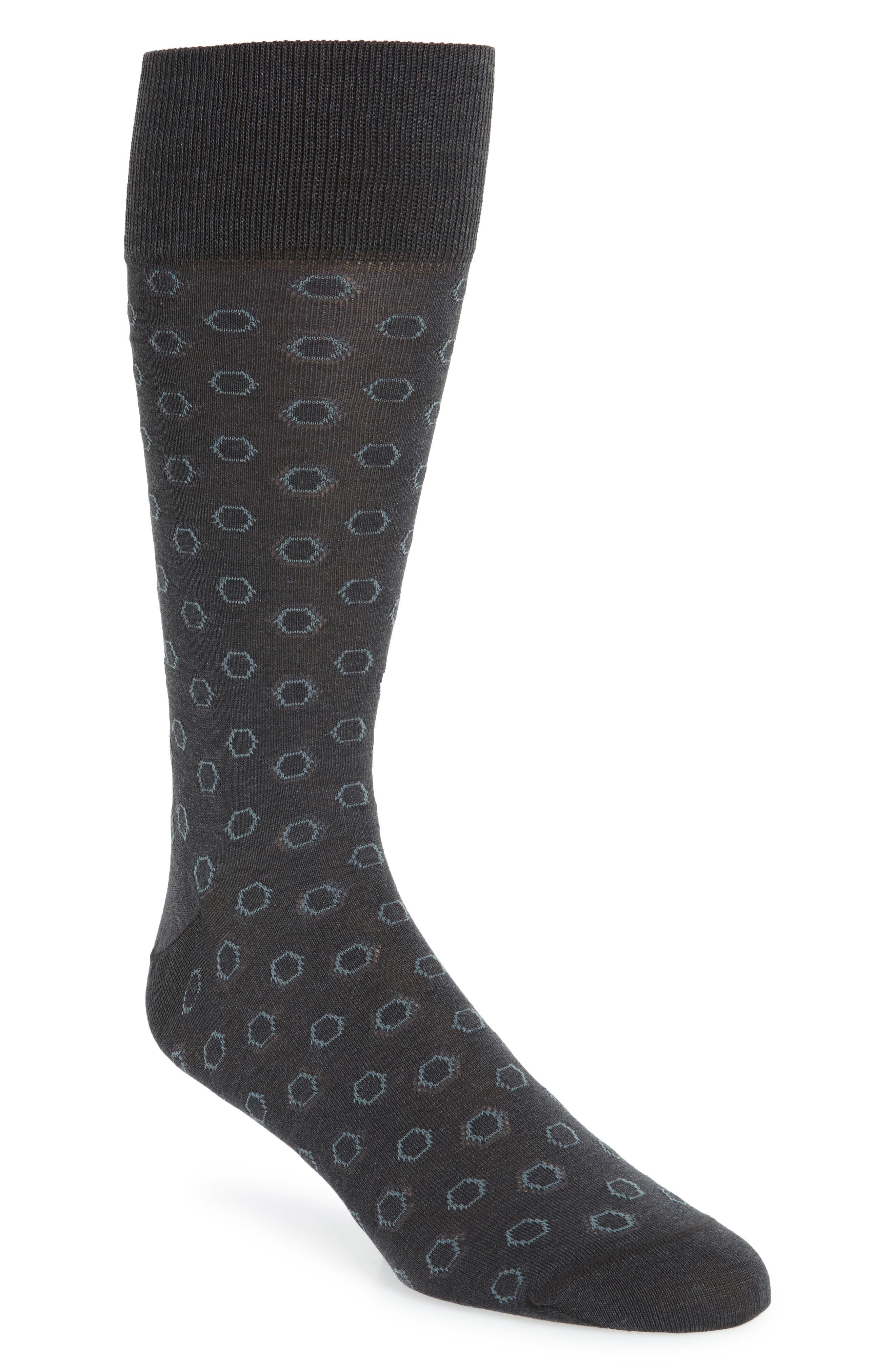 Hexagon Socks,                         Main,                         color, 021