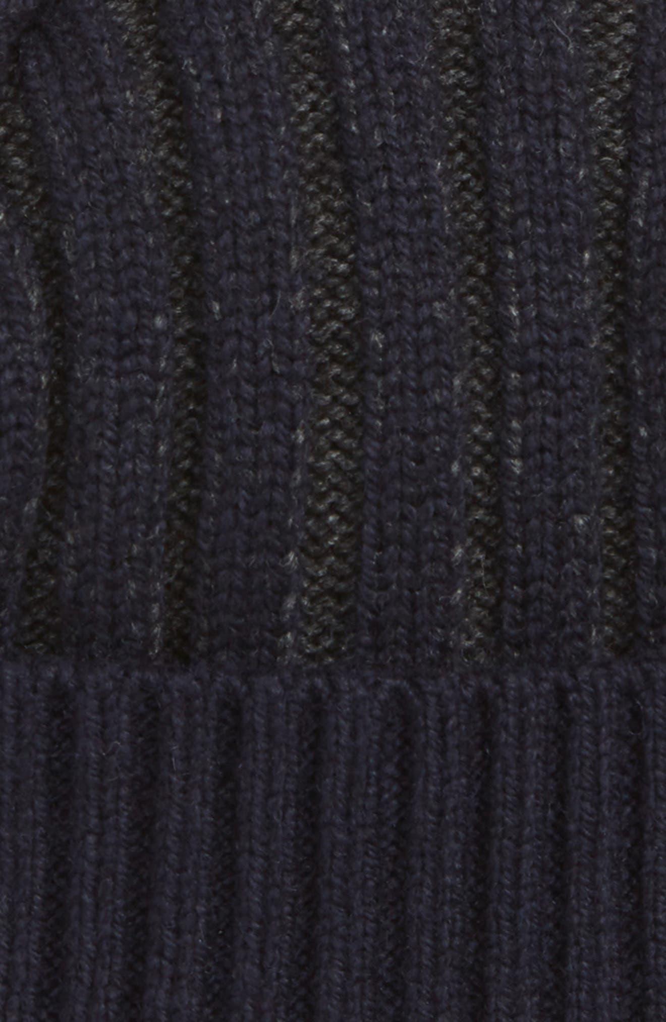 Knitted Interest Hat,                             Alternate thumbnail 2, color,                             410