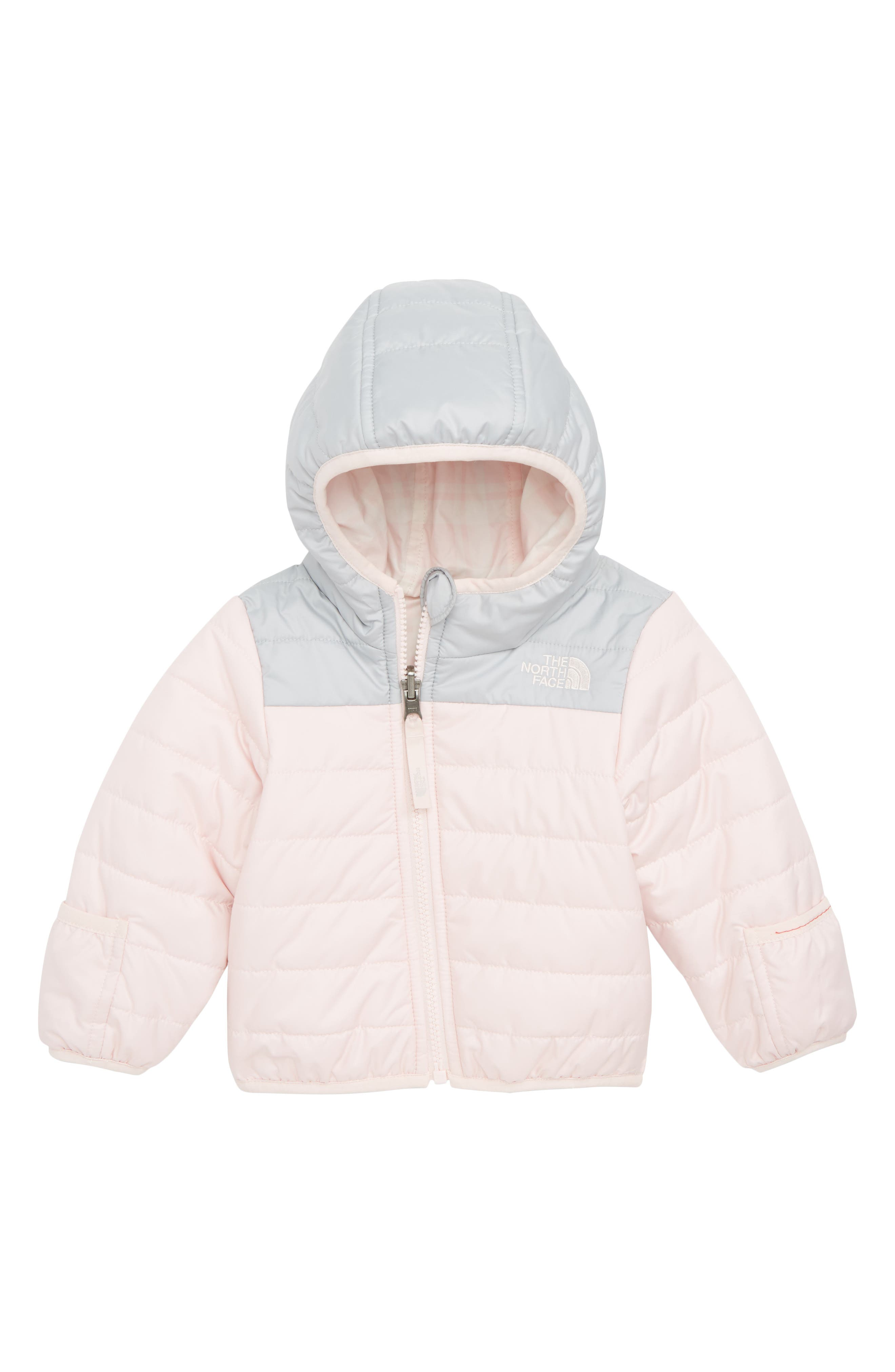 THE NORTH FACE,                             Perrito Reversible Water Repellent Heatseeker<sup>™</sup> Insulated Jacket,                             Main thumbnail 1, color,                             680