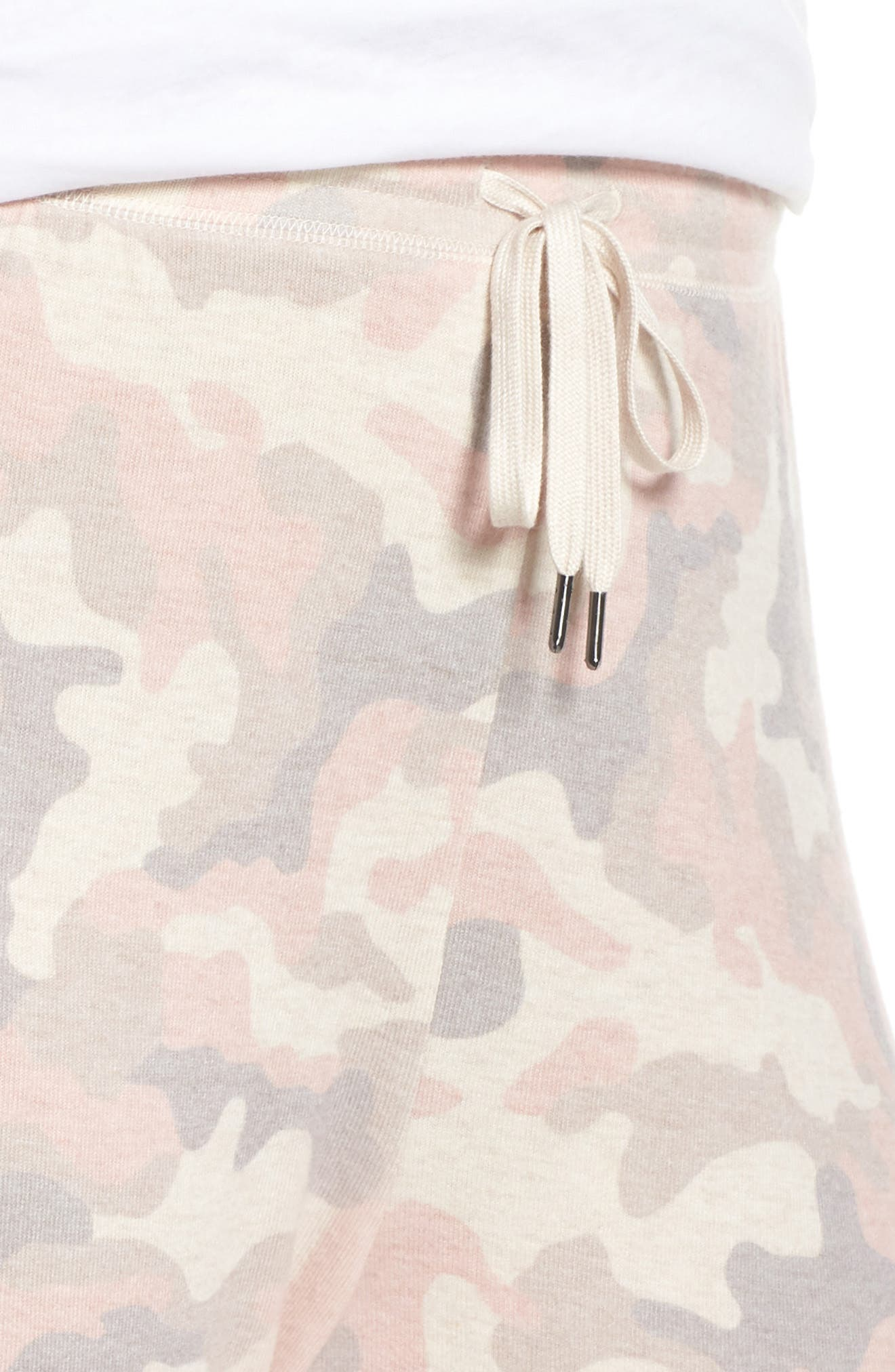 Love is a Battle Camo Pajama Pants,                             Alternate thumbnail 4, color,                             900