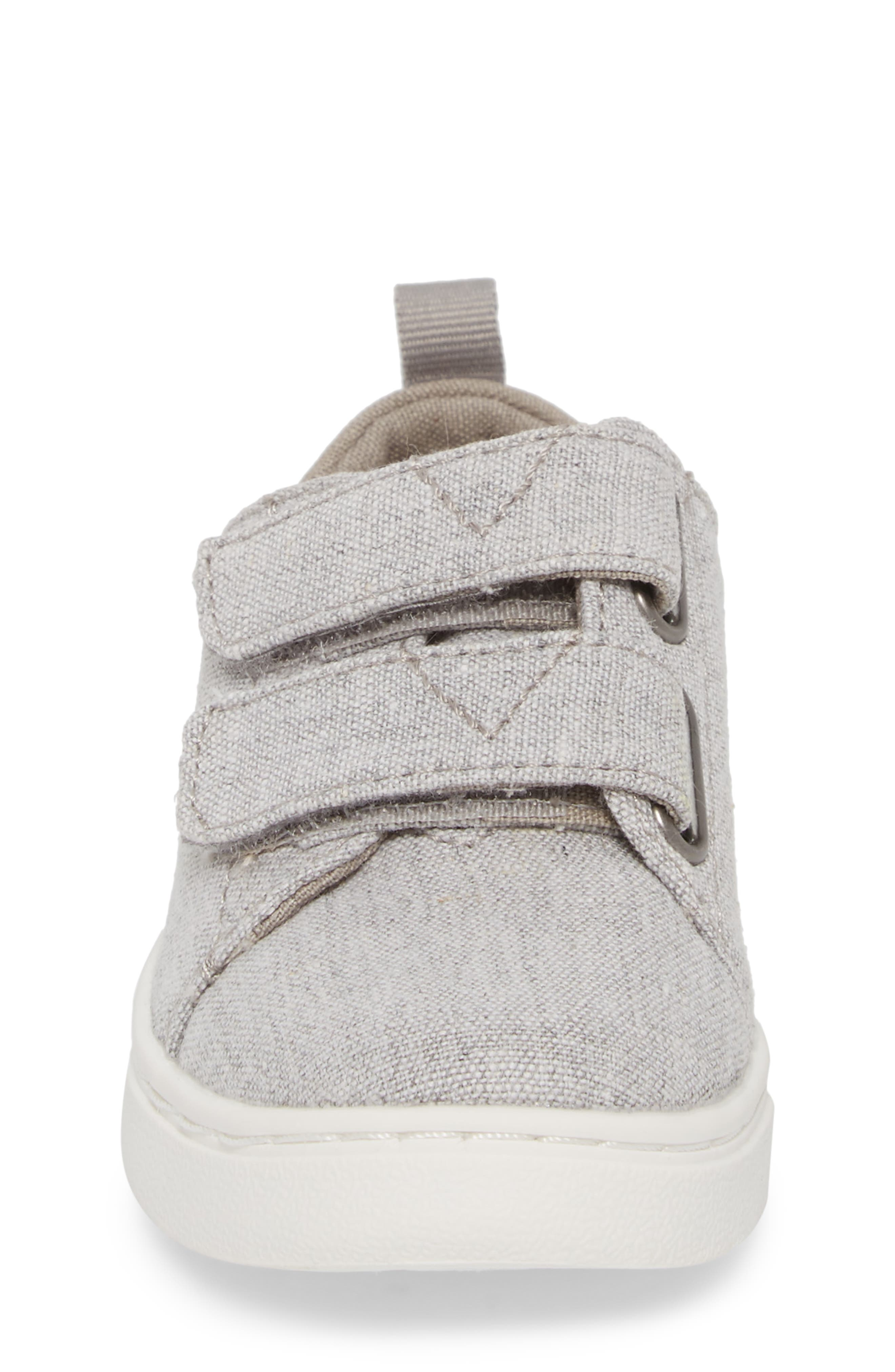 Lenny Sneaker,                             Alternate thumbnail 4, color,                             DRIZZLE GREY CHAMBRAY