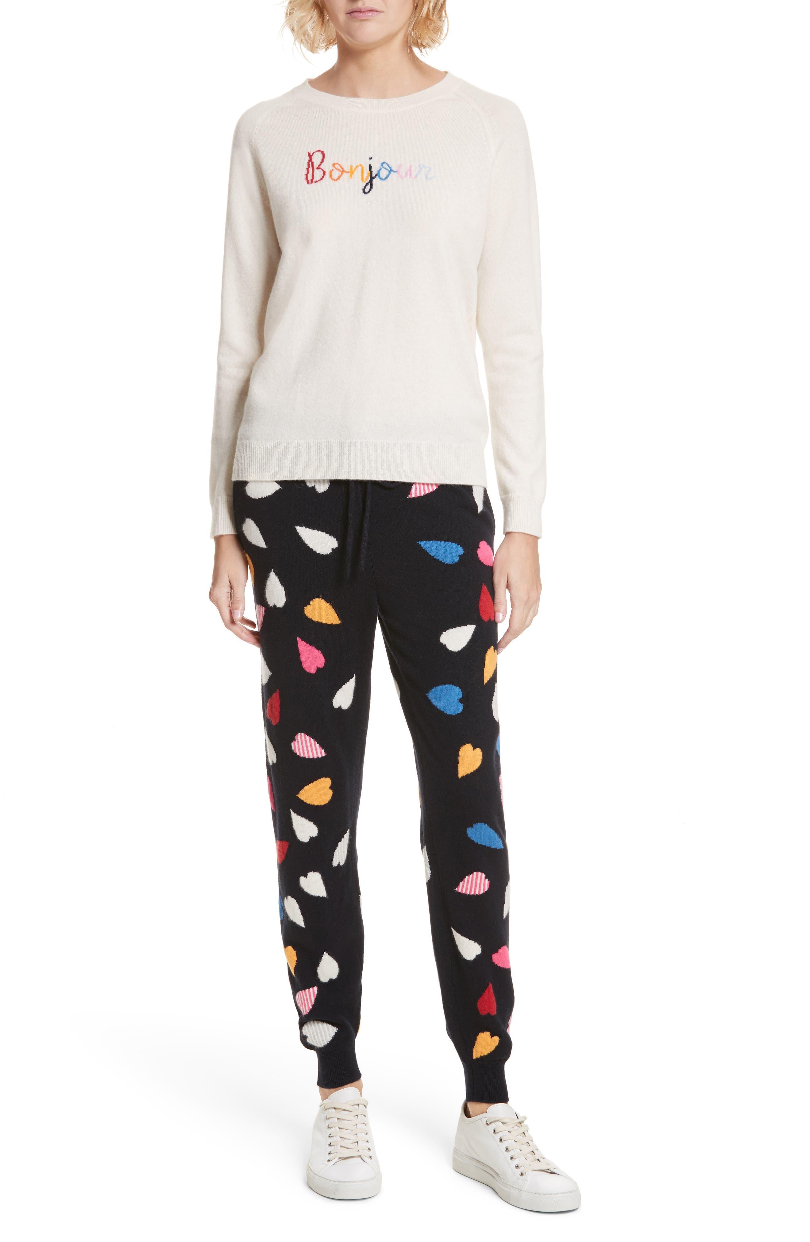 CHINTI & PARKER Bonjour/Bonsoir Cashmere Sweater,                             Alternate thumbnail 7, color,                             900