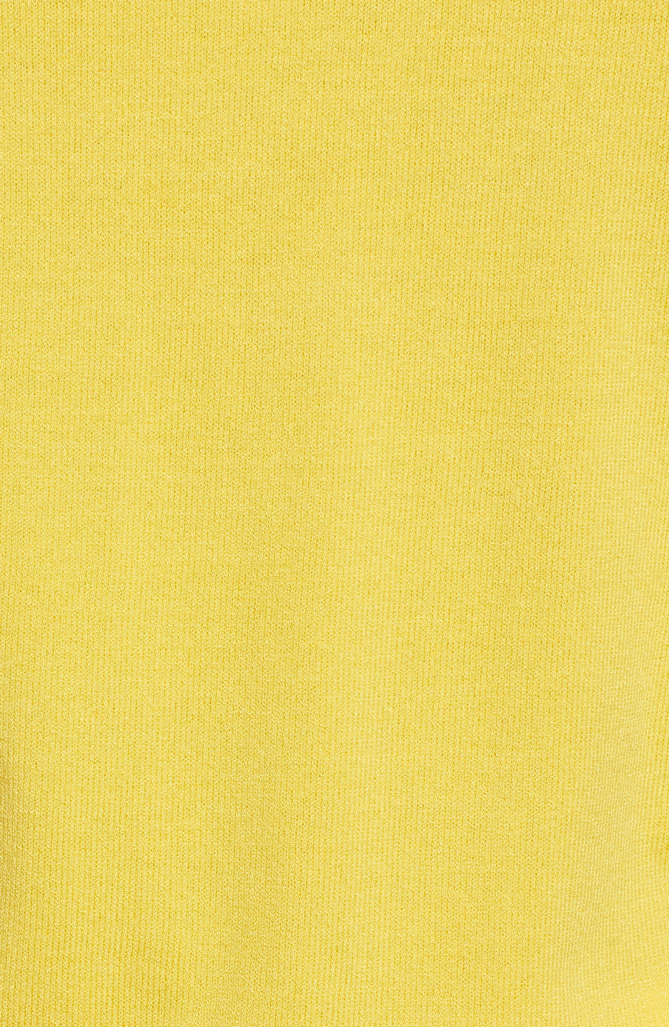 1901,                             Polo Sweater,                             Alternate thumbnail 5, color,                             YELLOW CITRUS
