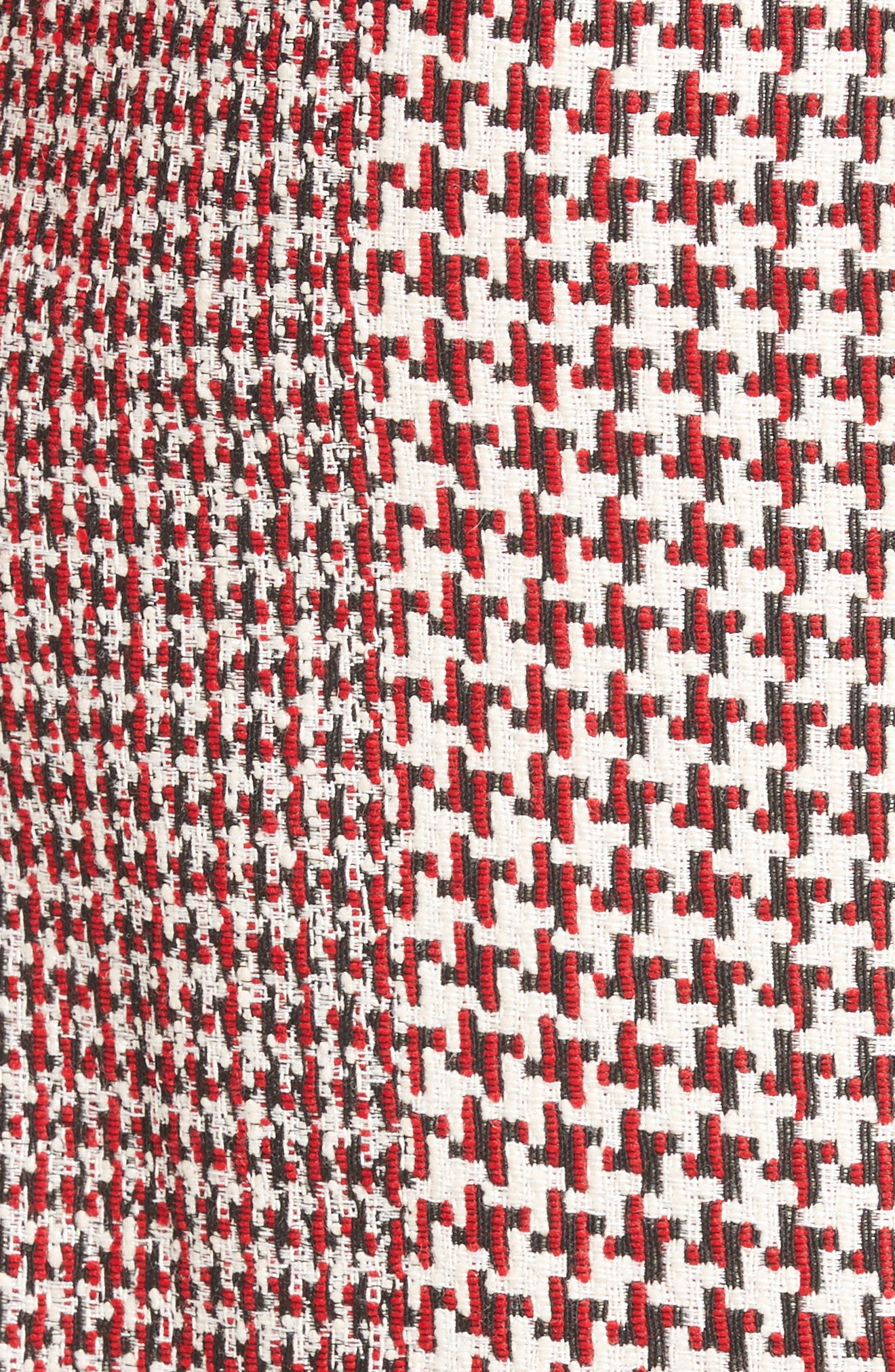 Houndstooth Pencil Skirt,                             Alternate thumbnail 8, color,