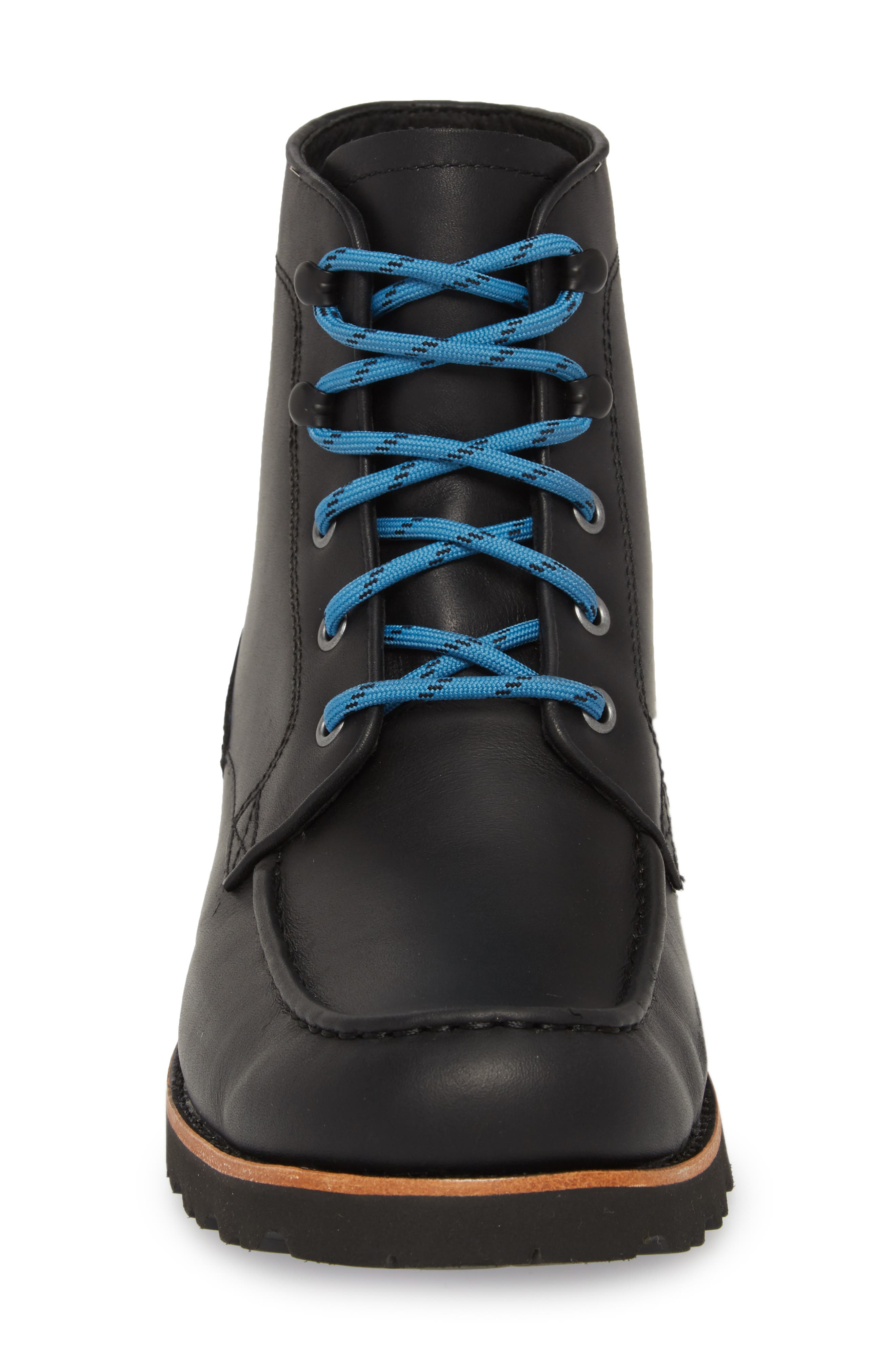 Agnar Moc Toe Boot,                             Alternate thumbnail 4, color,                             001