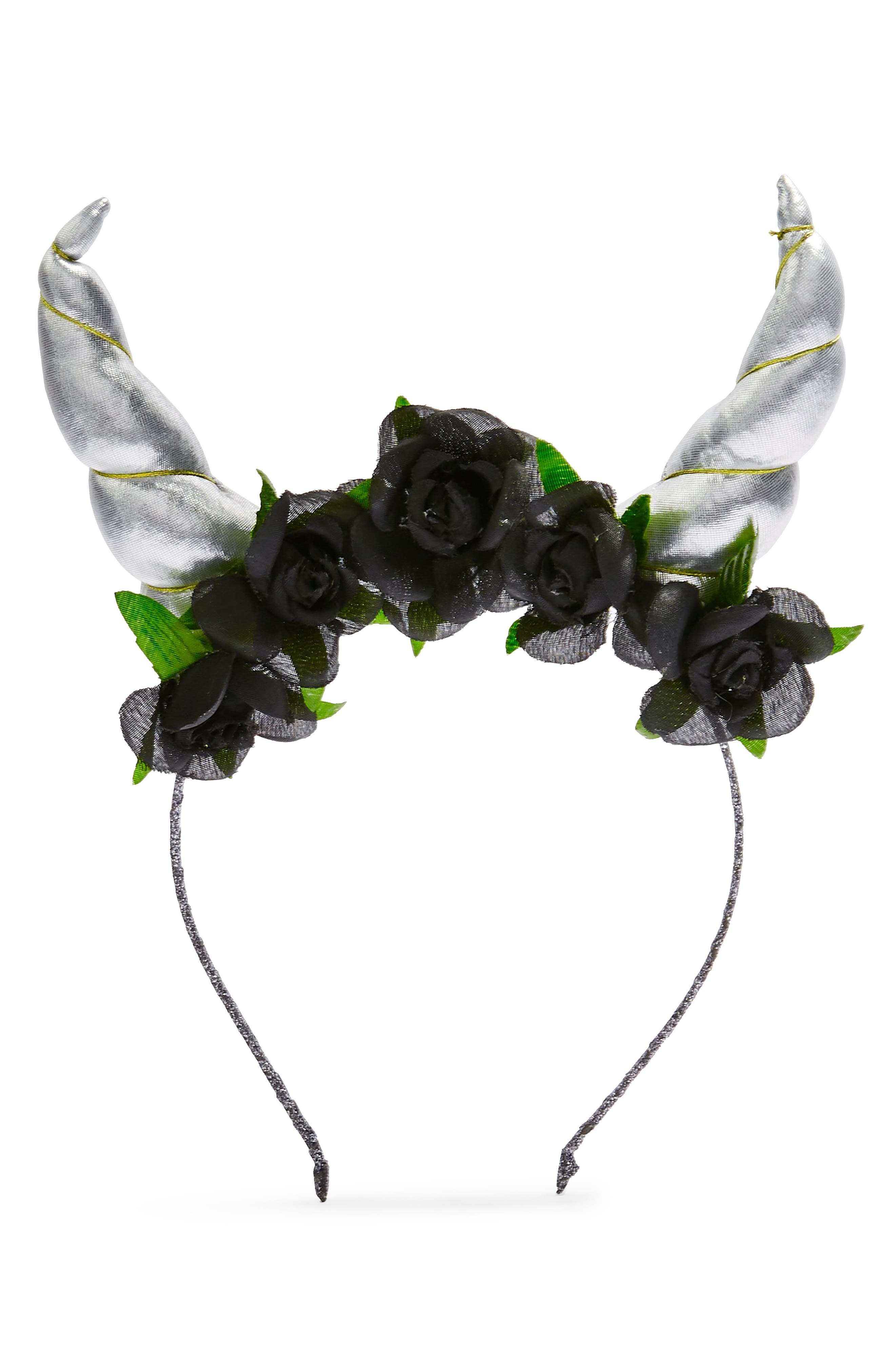 Folklore Headband,                         Main,                         color, BLACK