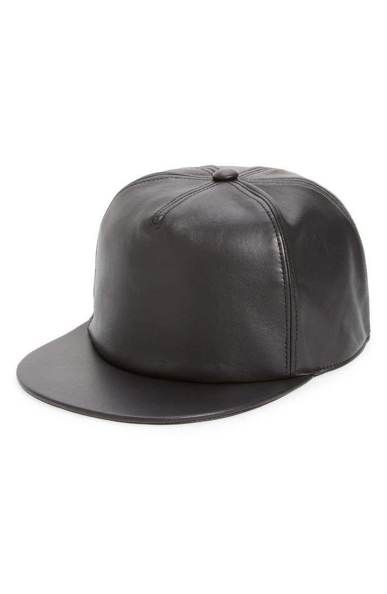 Givenchy Leather Baseball Cap  68db71dfcd5