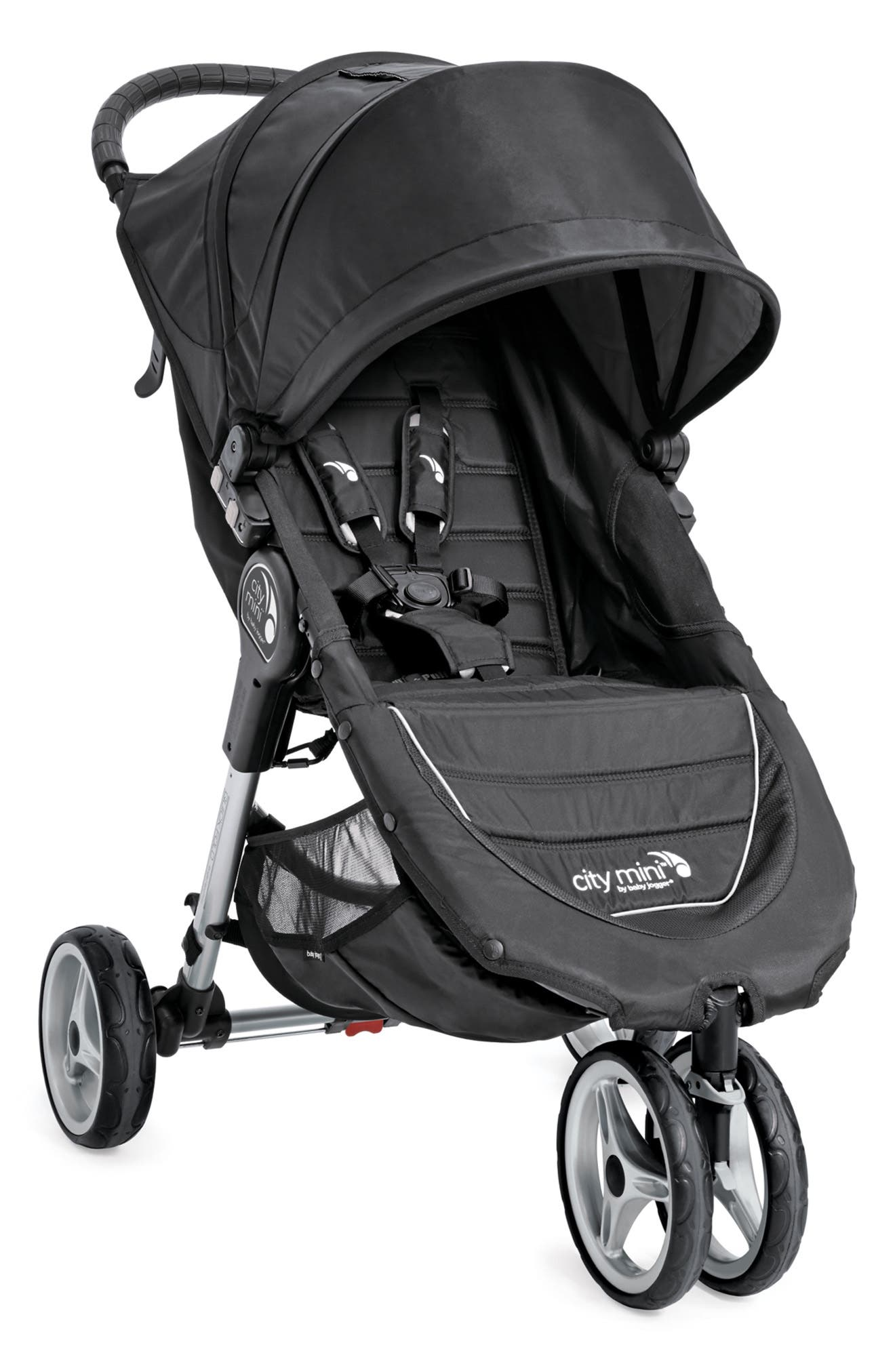 'City Mini<sup>®</sup>' Stroller,                         Main,                         color, BLACK