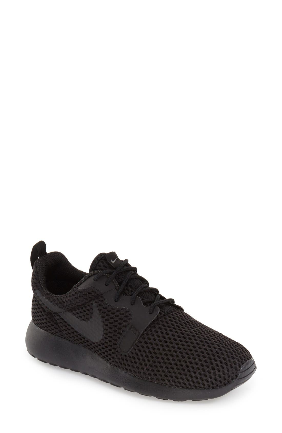 NIKE,                             'Roshe One Hyper Breathe' Sneaker,                             Main thumbnail 1, color,                             001