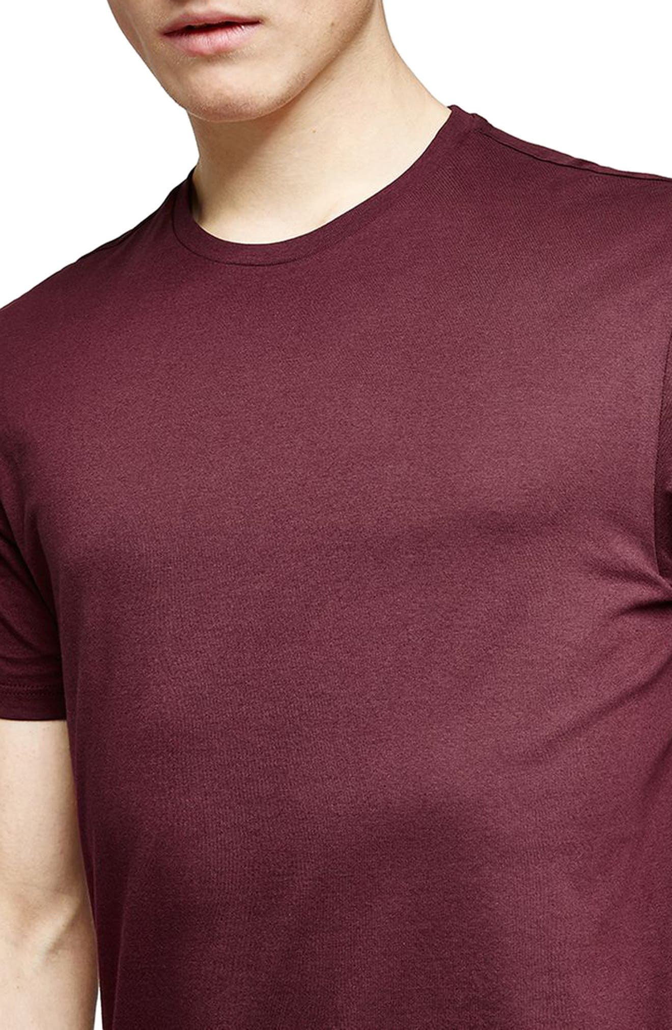 Slim Fit Crewneck T-Shirt,                             Alternate thumbnail 212, color,