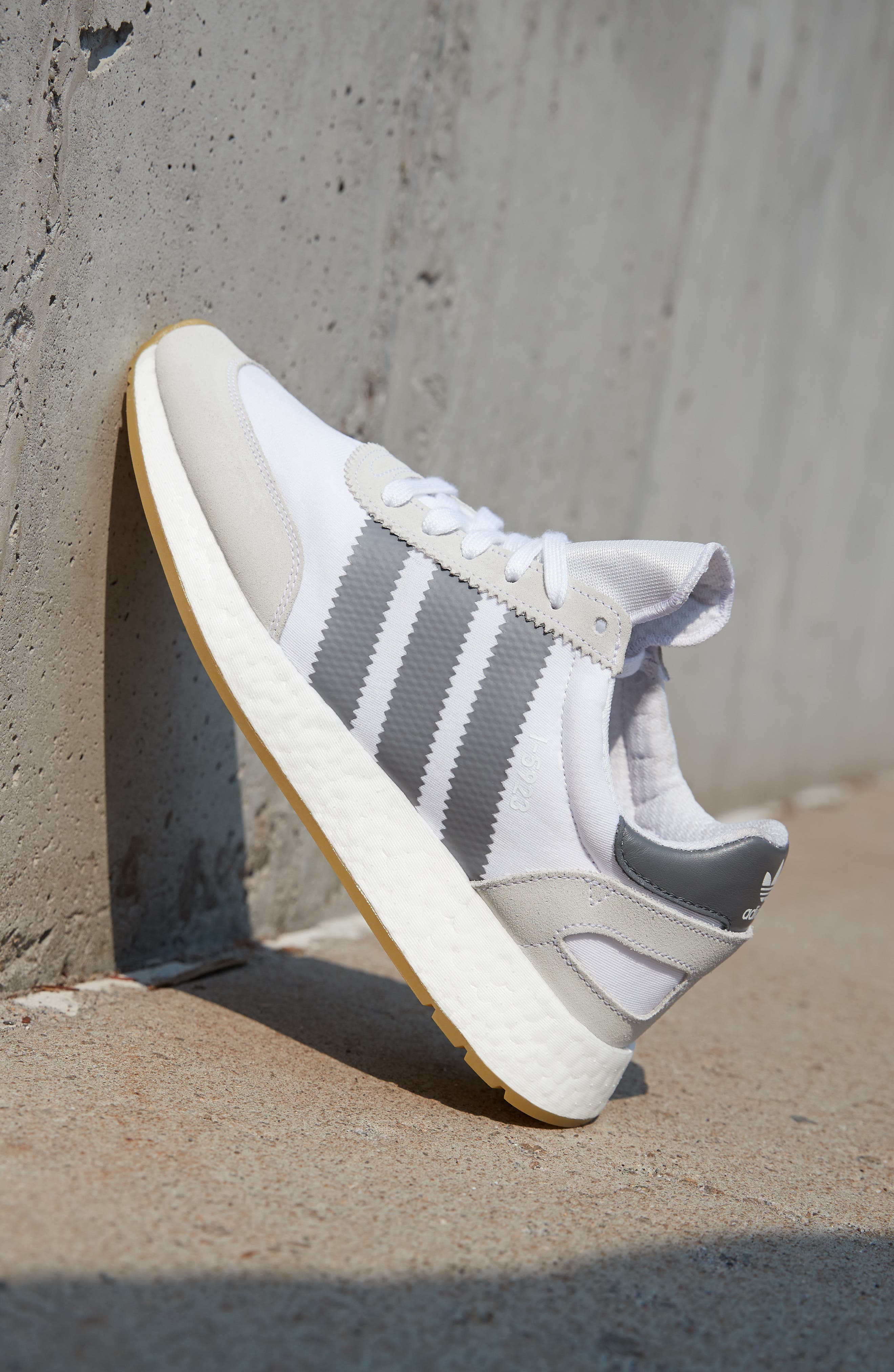 I-5923 Sneaker,                             Alternate thumbnail 7, color,                             BLACK/ BURGUNDY/ WHITE