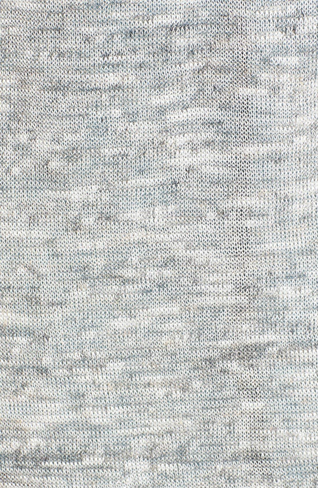 HALOGEN<SUP>®</SUP>,                             Long Belted Linen Blend Cardigan,                             Alternate thumbnail 3, color,                             021