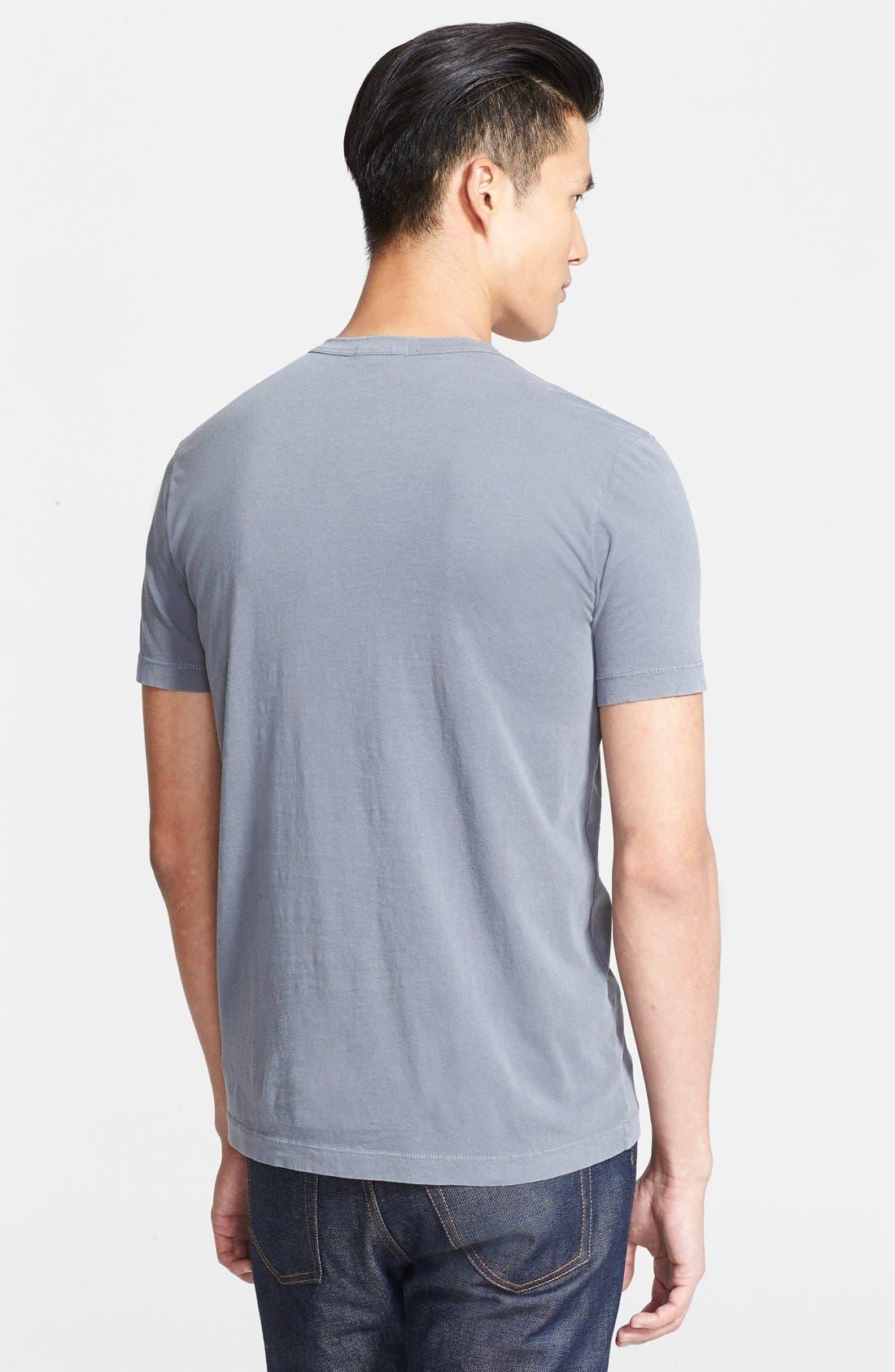 Crewneck Jersey T-Shirt,                             Alternate thumbnail 152, color,