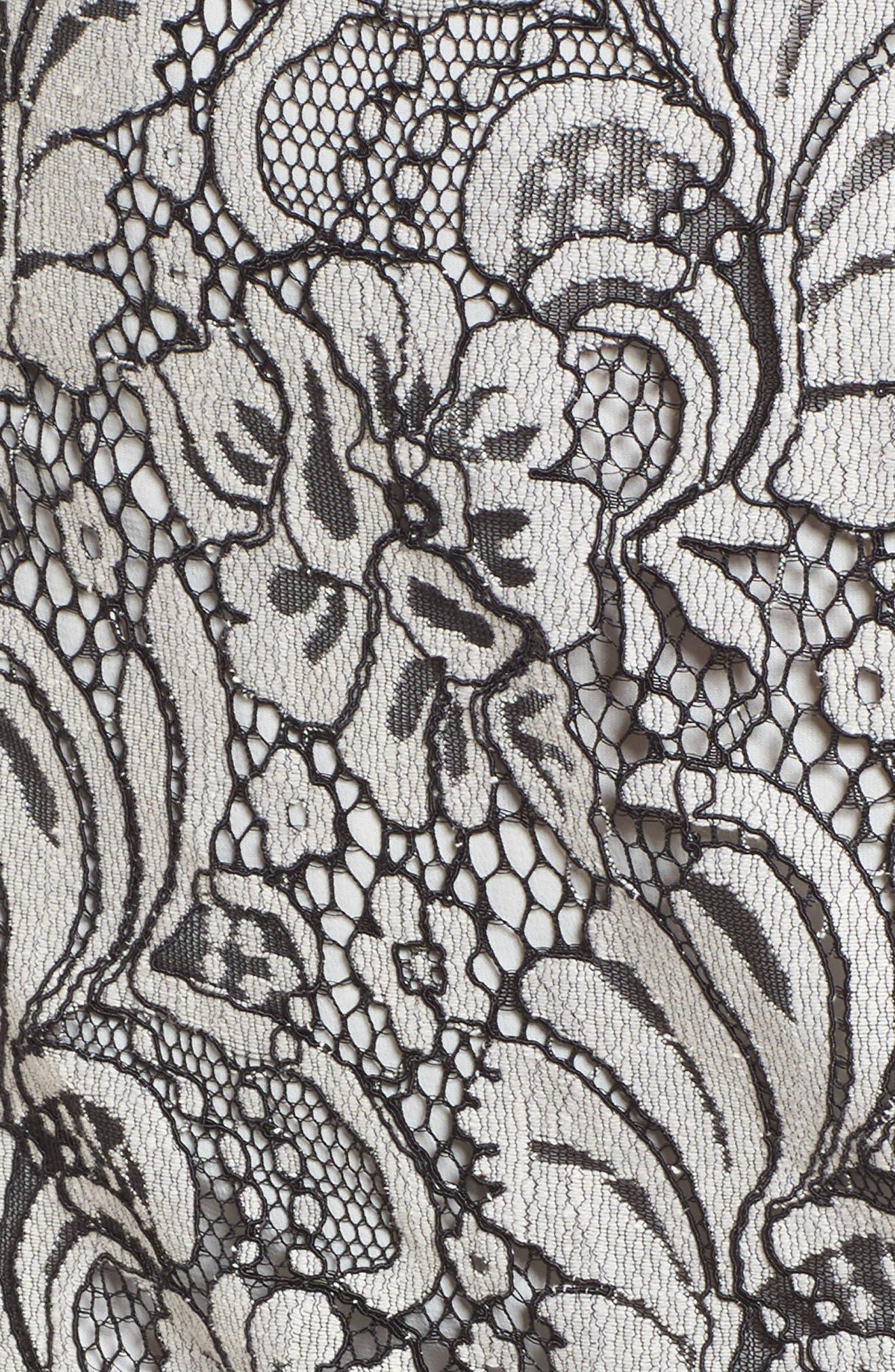 Sue Lace Dress,                             Alternate thumbnail 5, color,                             900