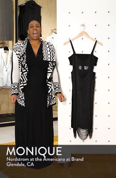 Fringe Body-Con Dress, sales video thumbnail