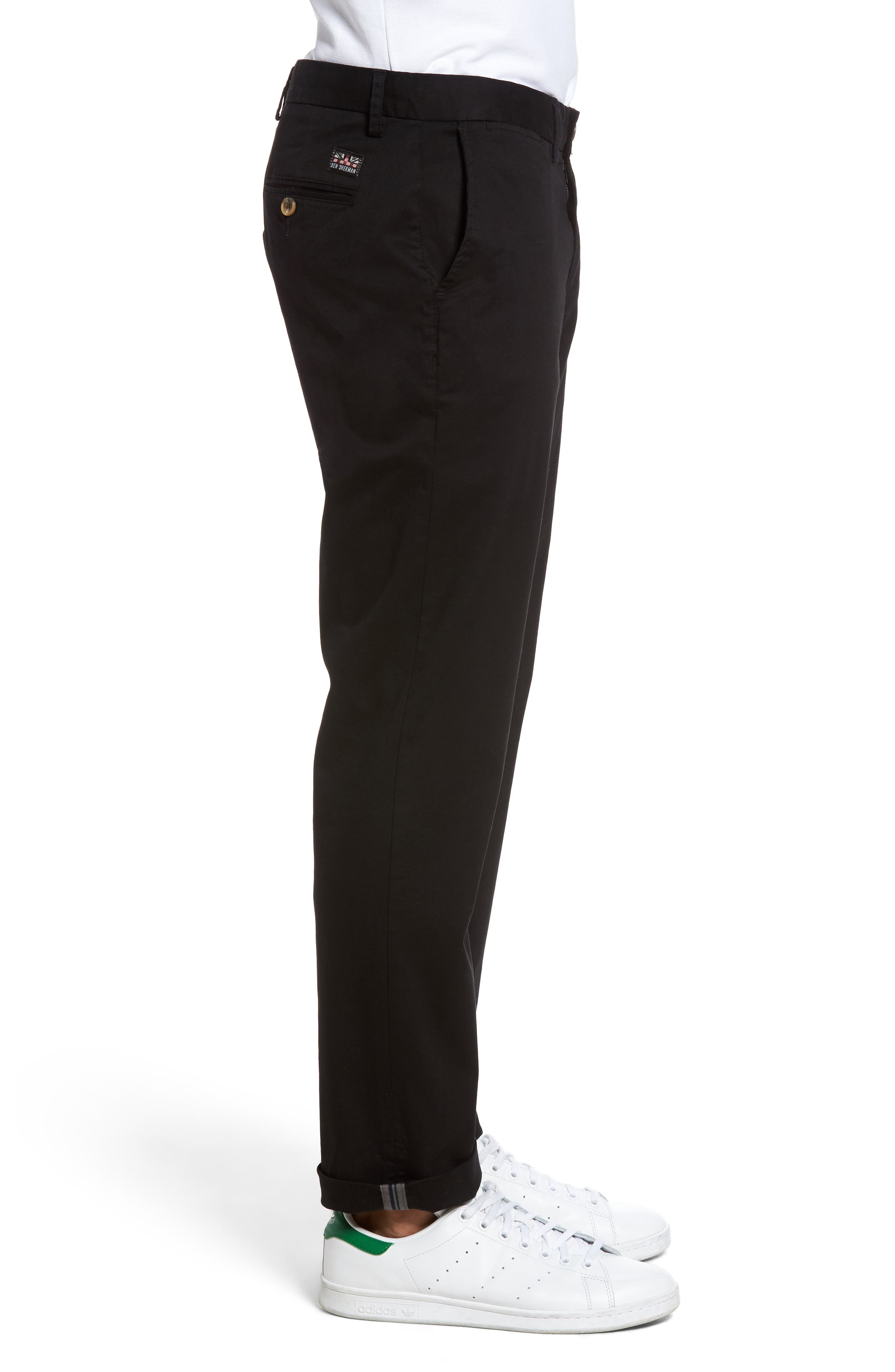 Slim Fit Stretch Chinos,                             Alternate thumbnail 27, color,