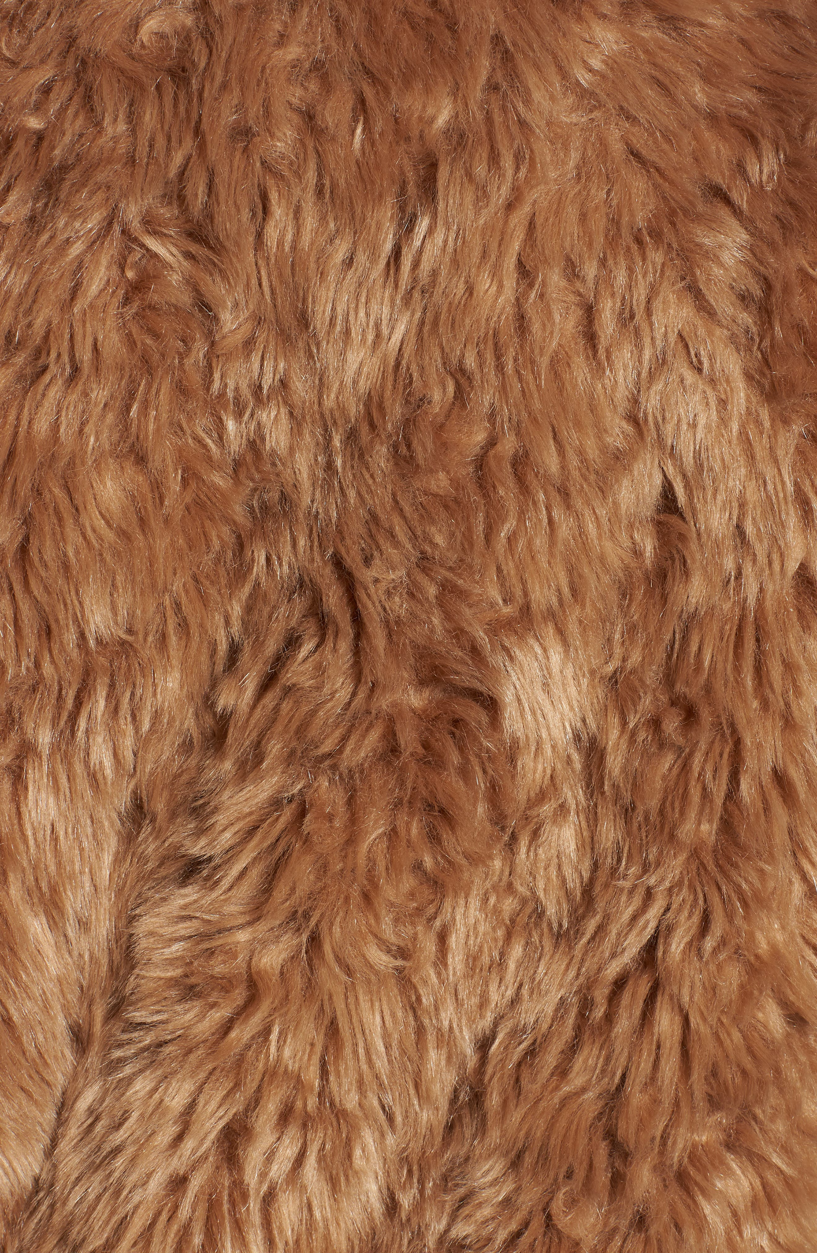 Faux Fur Teddy Coat,                             Alternate thumbnail 6, color,                             260