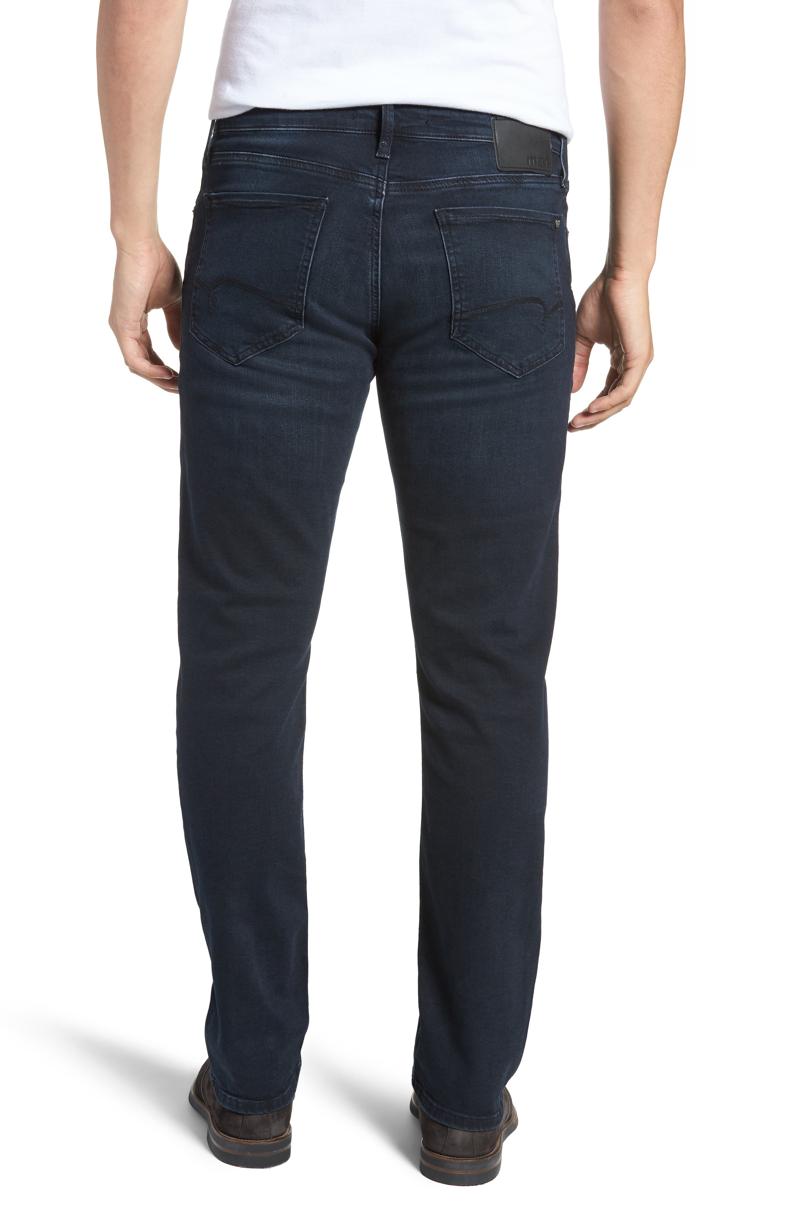 Matt Relaxed Fit Jeans,                             Alternate thumbnail 2, color,                             401