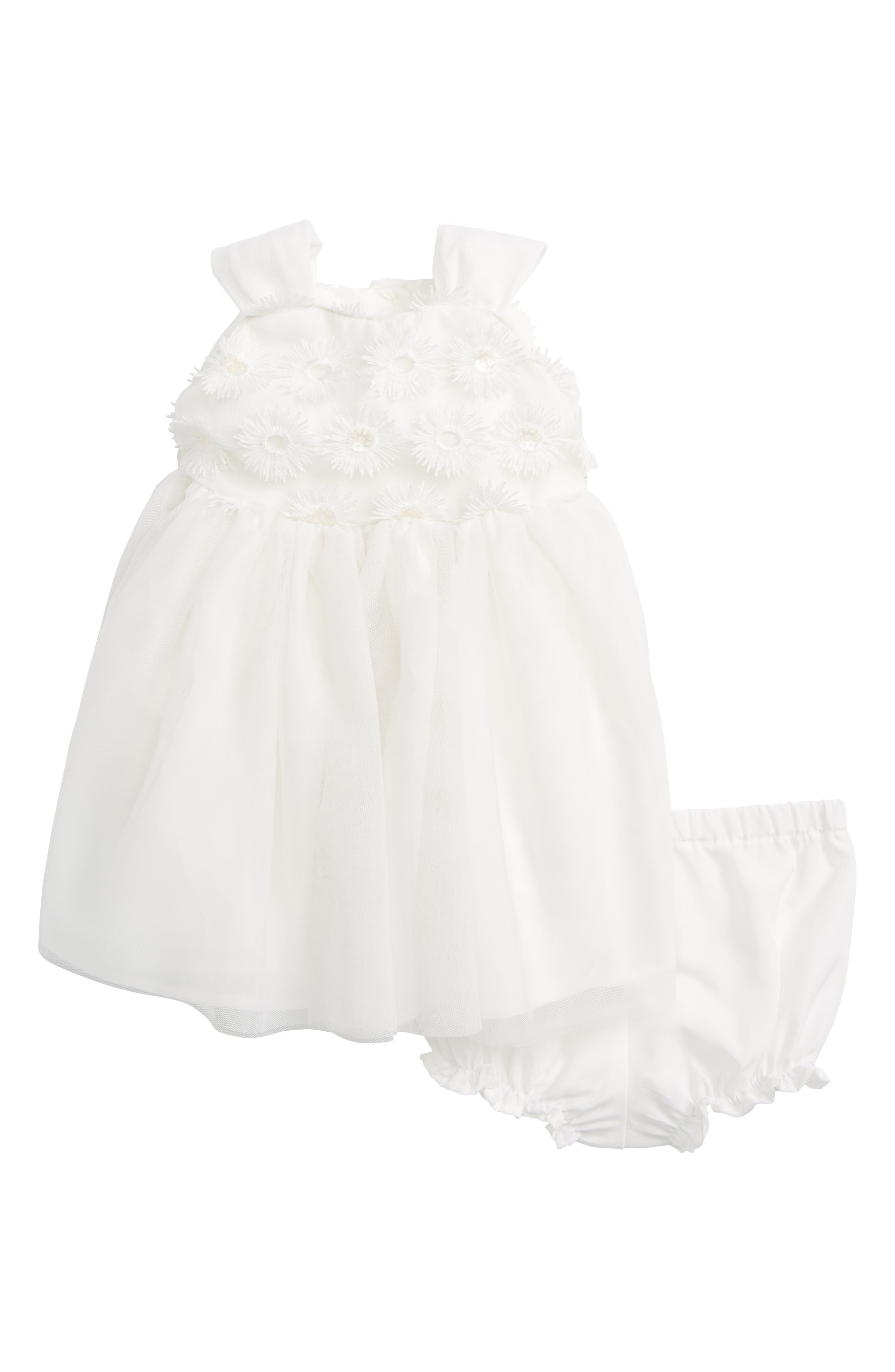 Daisy Sleeveless Dress,                             Main thumbnail 1, color,                             100