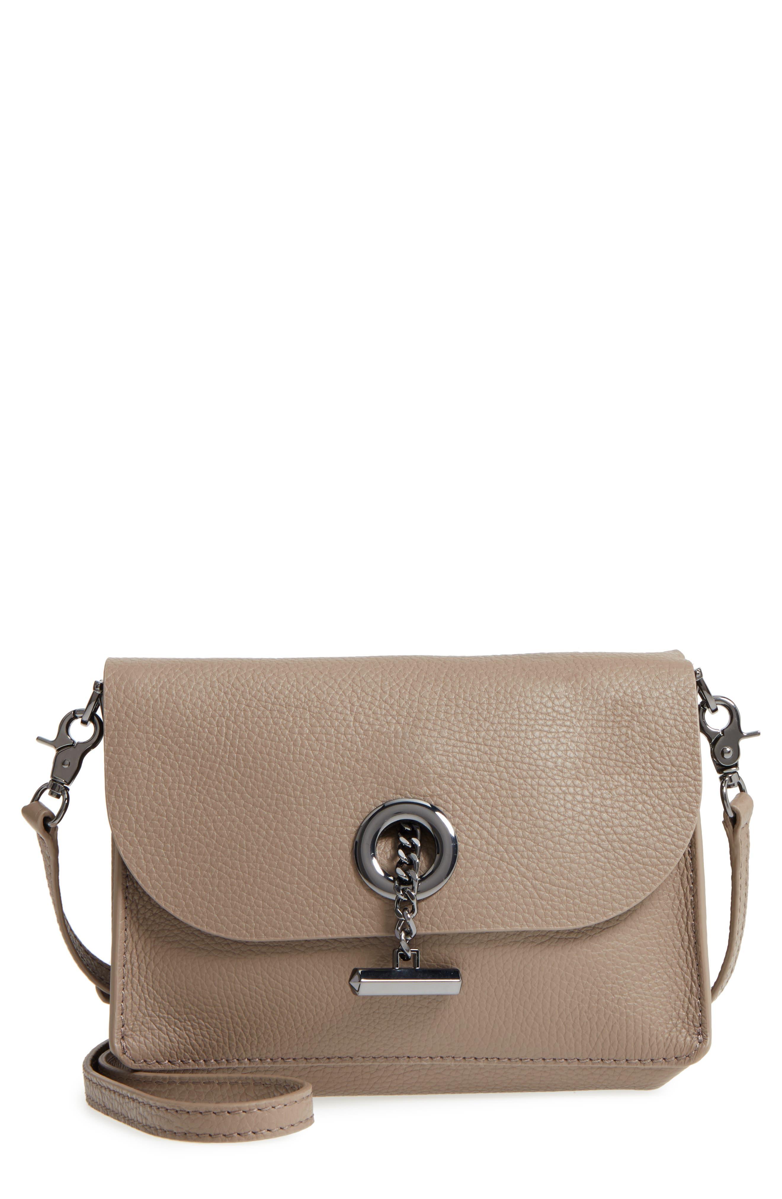 Waverly Leather Crossbody Bag,                             Main thumbnail 4, color,