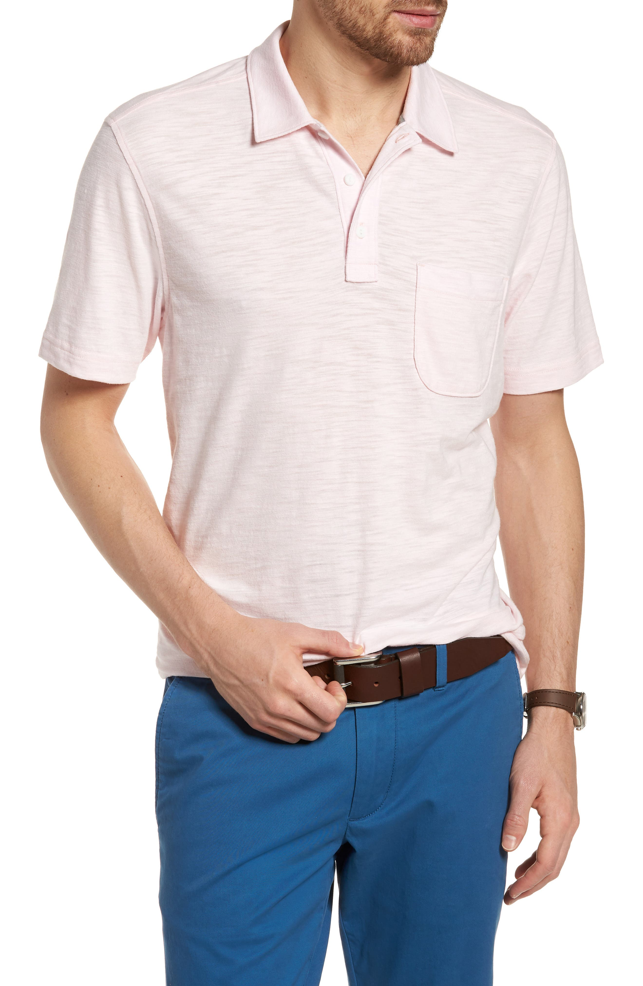 Space Dyed Pocket Polo,                             Main thumbnail 7, color,