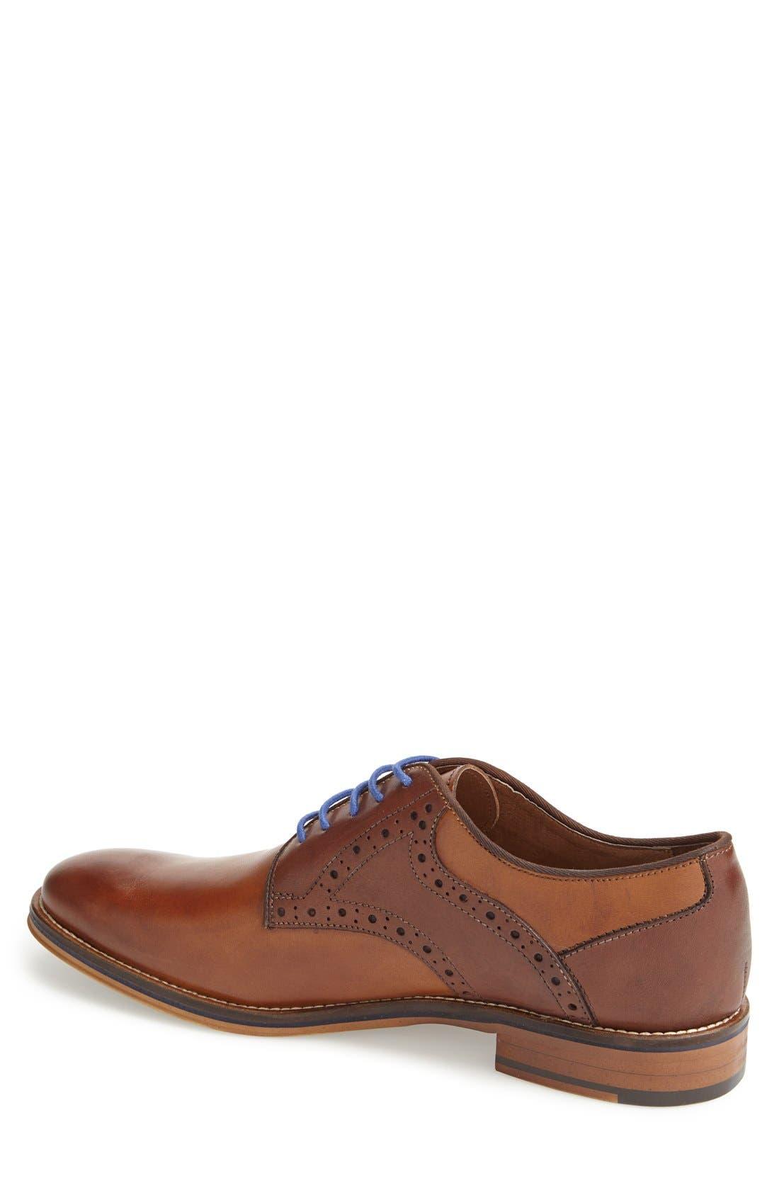 Conard Saddle Shoe,                             Alternate thumbnail 2, color,                             TAN/ DARK BROWN