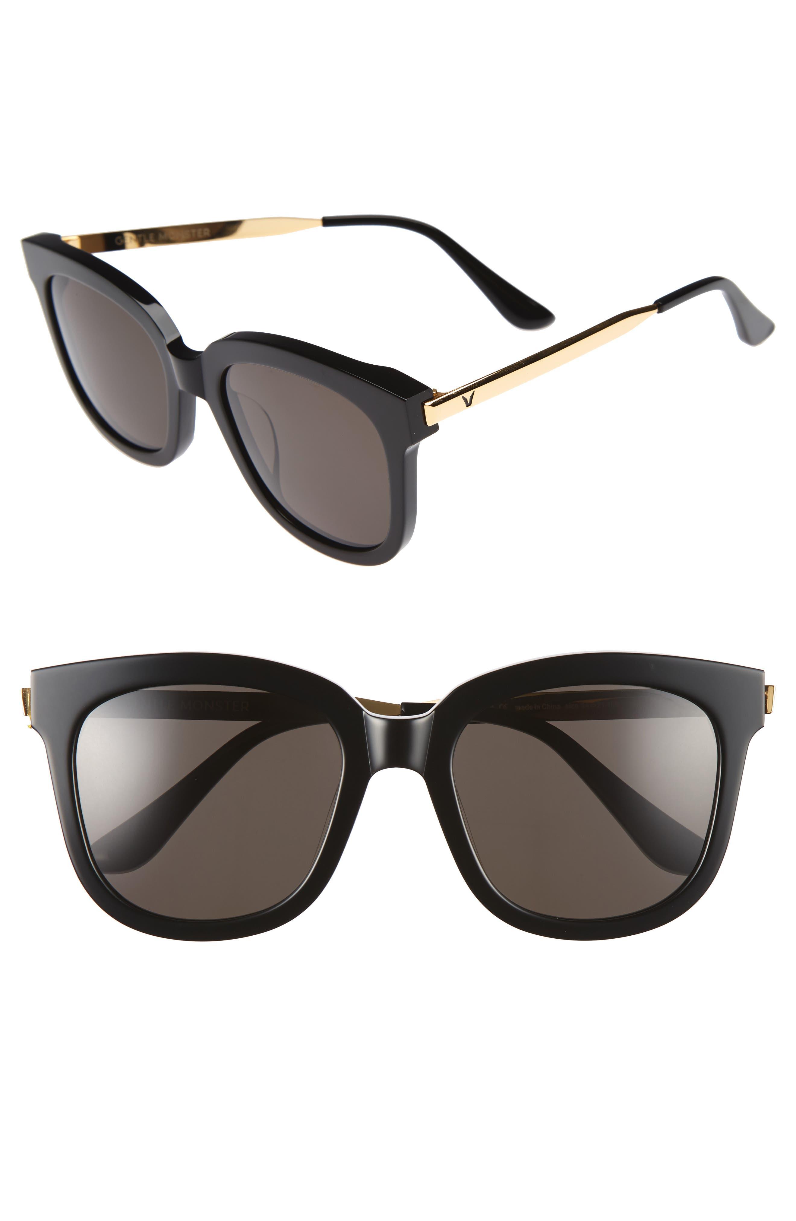Absente 54mm Sunglasses,                             Alternate thumbnail 3, color,                             001