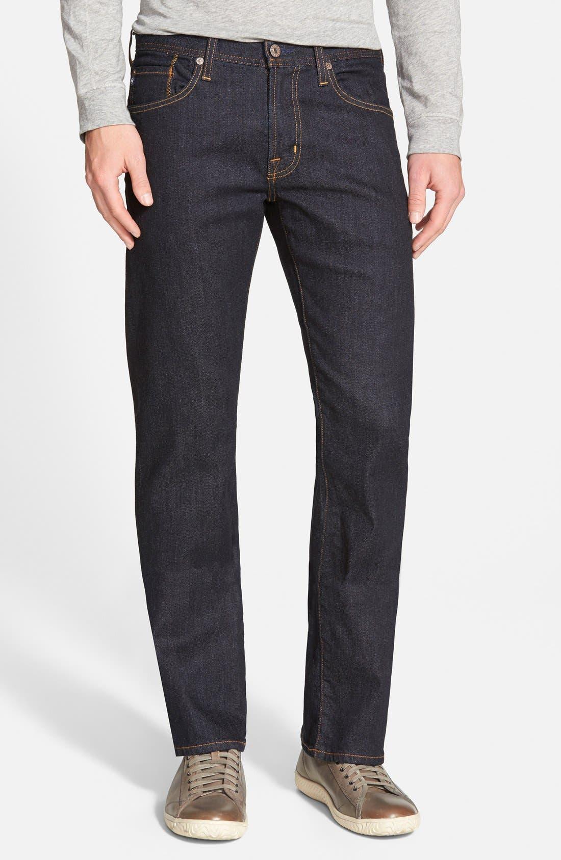 Protégé Straight Leg Jeans,                             Main thumbnail 1, color,                             461