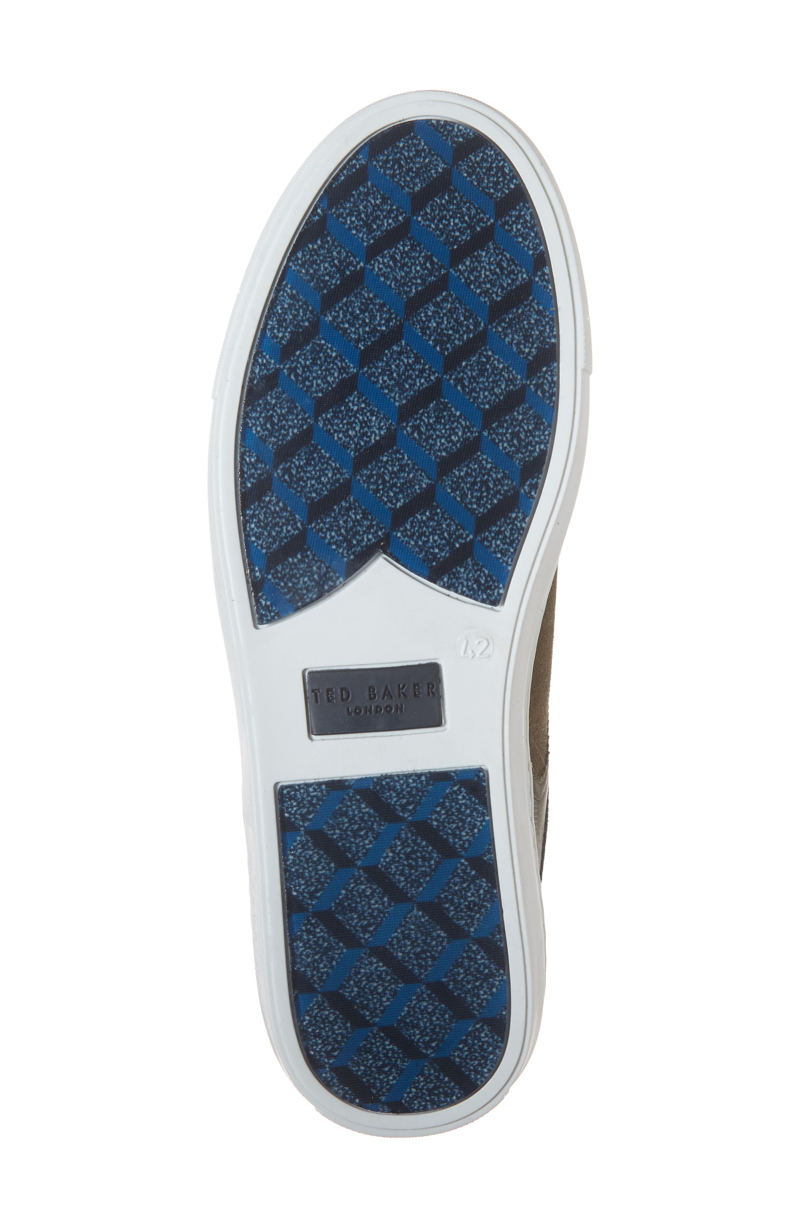 Burall Sneaker,                             Alternate thumbnail 6, color,                             DARK GREEN SUEDE