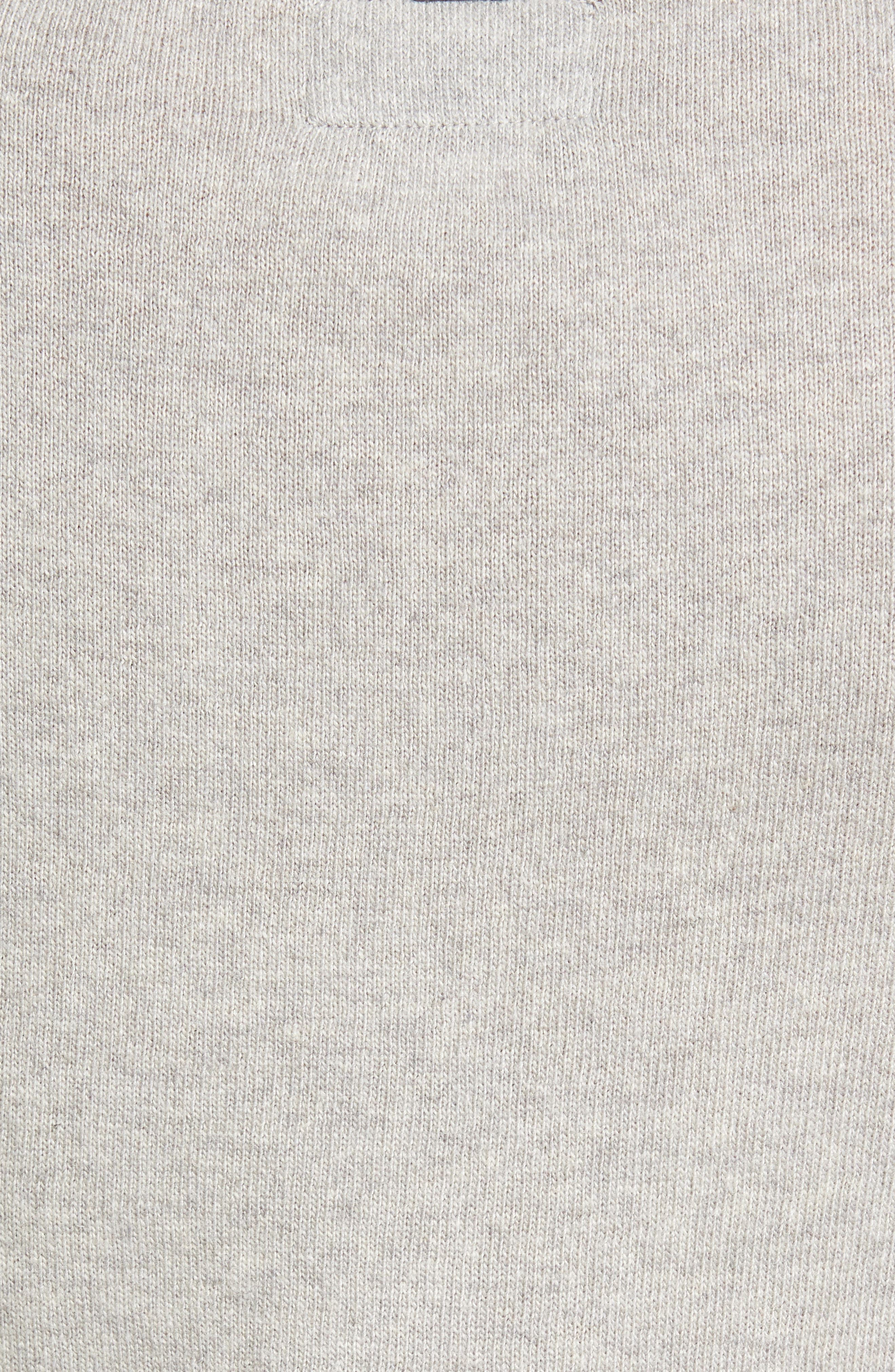 Mill Wool Blend Boatneck Sweater,                             Alternate thumbnail 5, color,                             050