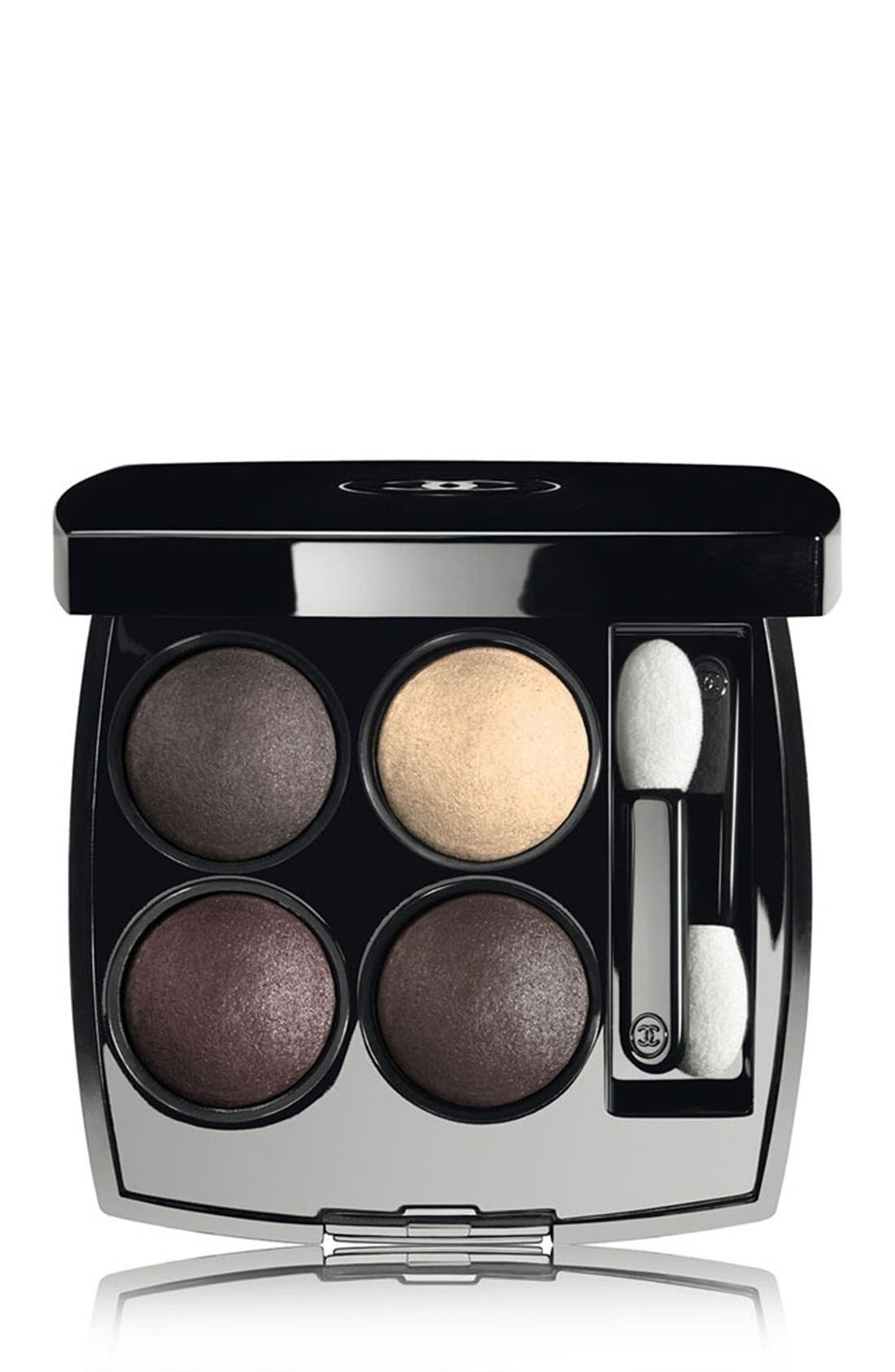 SPRING COLOR LES 4 OMBRES<br />Multi-Effect Quadra Eyeshadow,                             Main thumbnail 1, color,                             020
