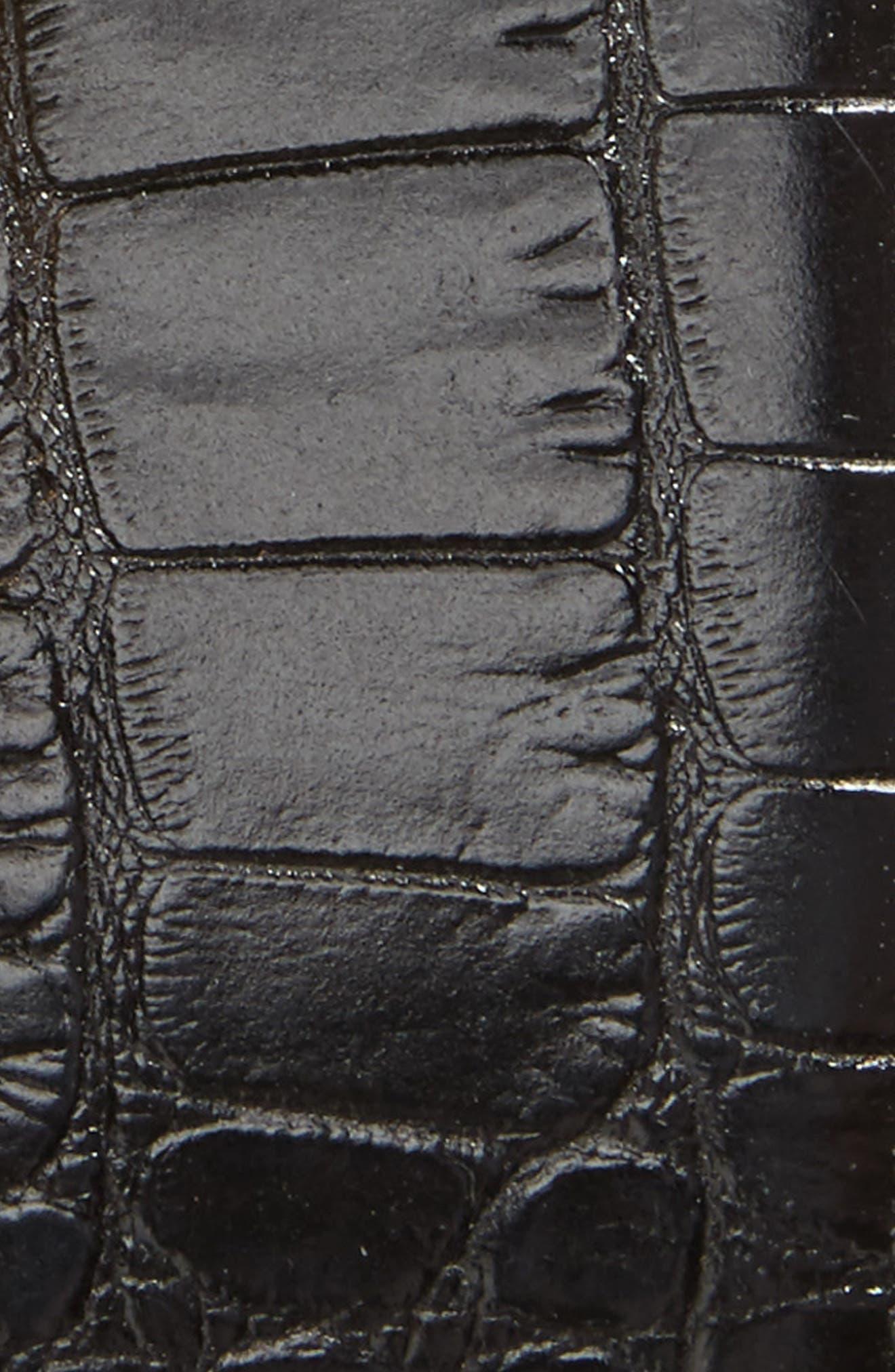 Gancini Leather Belt,                             Alternate thumbnail 2, color,                             001