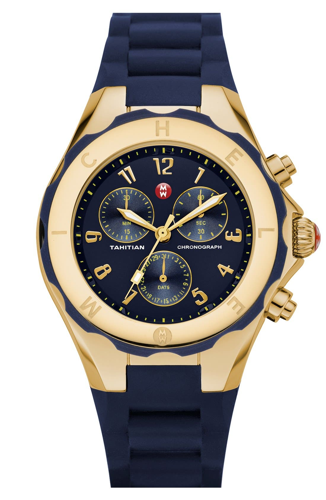 'Tahitian Jelly Bean' Gold Plated Watch, 40mm,                             Main thumbnail 17, color,
