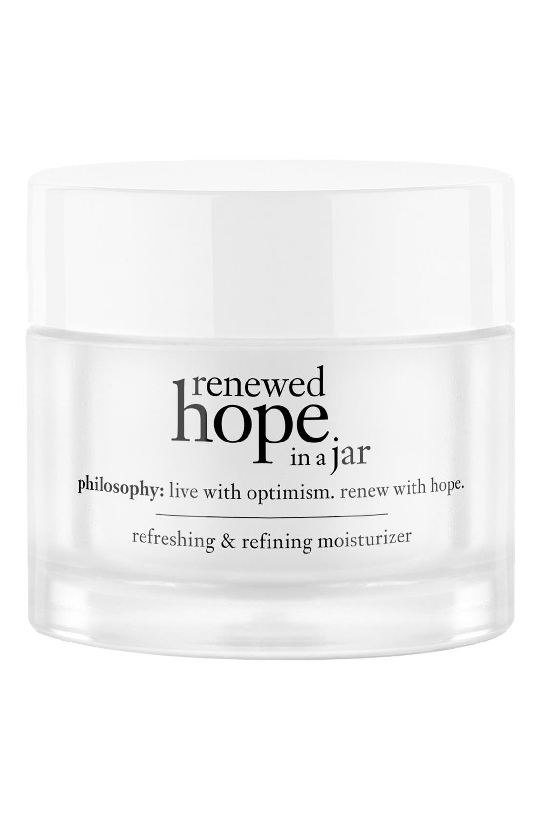 renewed hope in a jar for all skin types,                         Main,                         color, NO COLOR