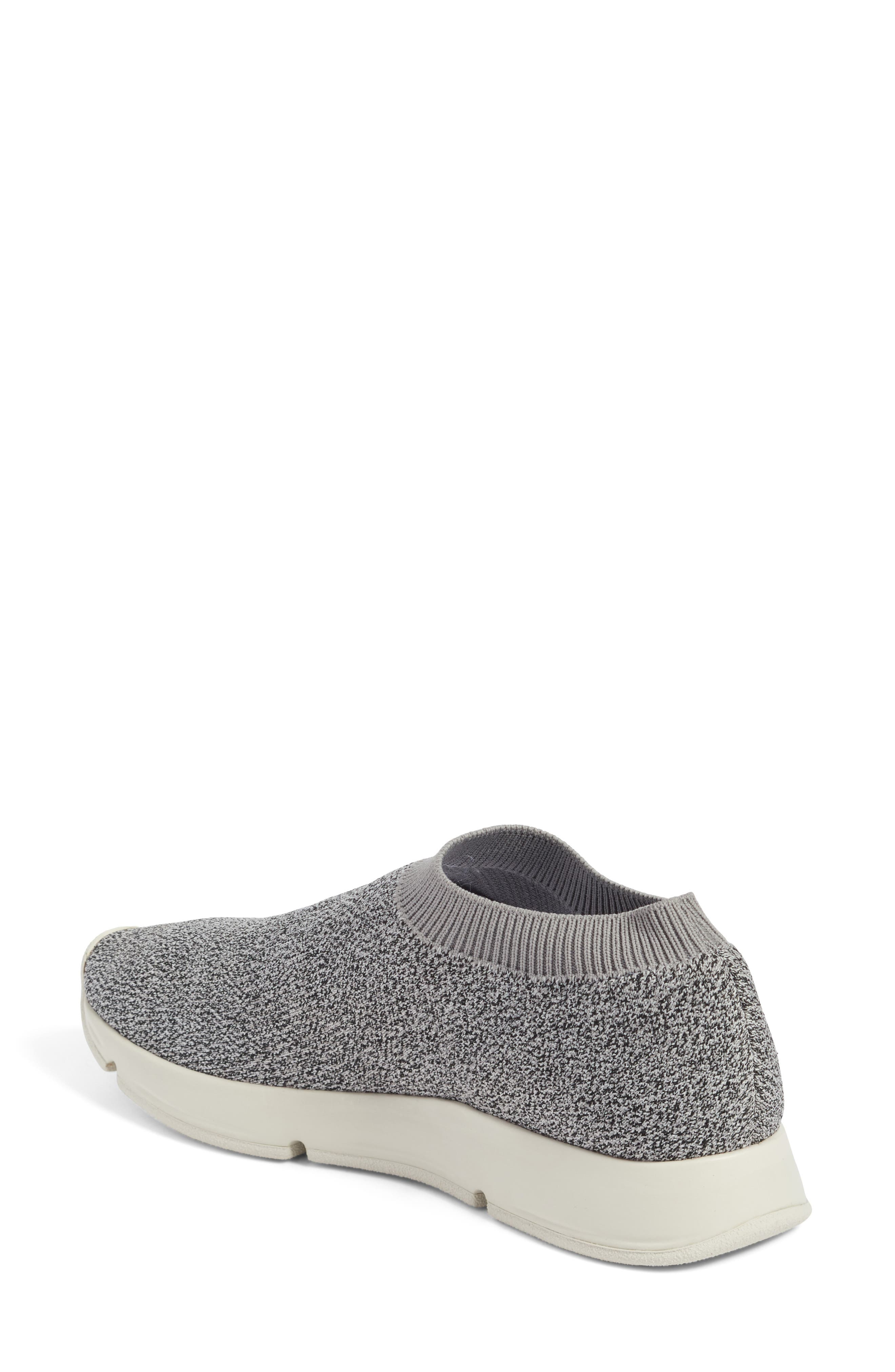 Theroux Slip-On Knit Sneaker,                             Alternate thumbnail 5, color,