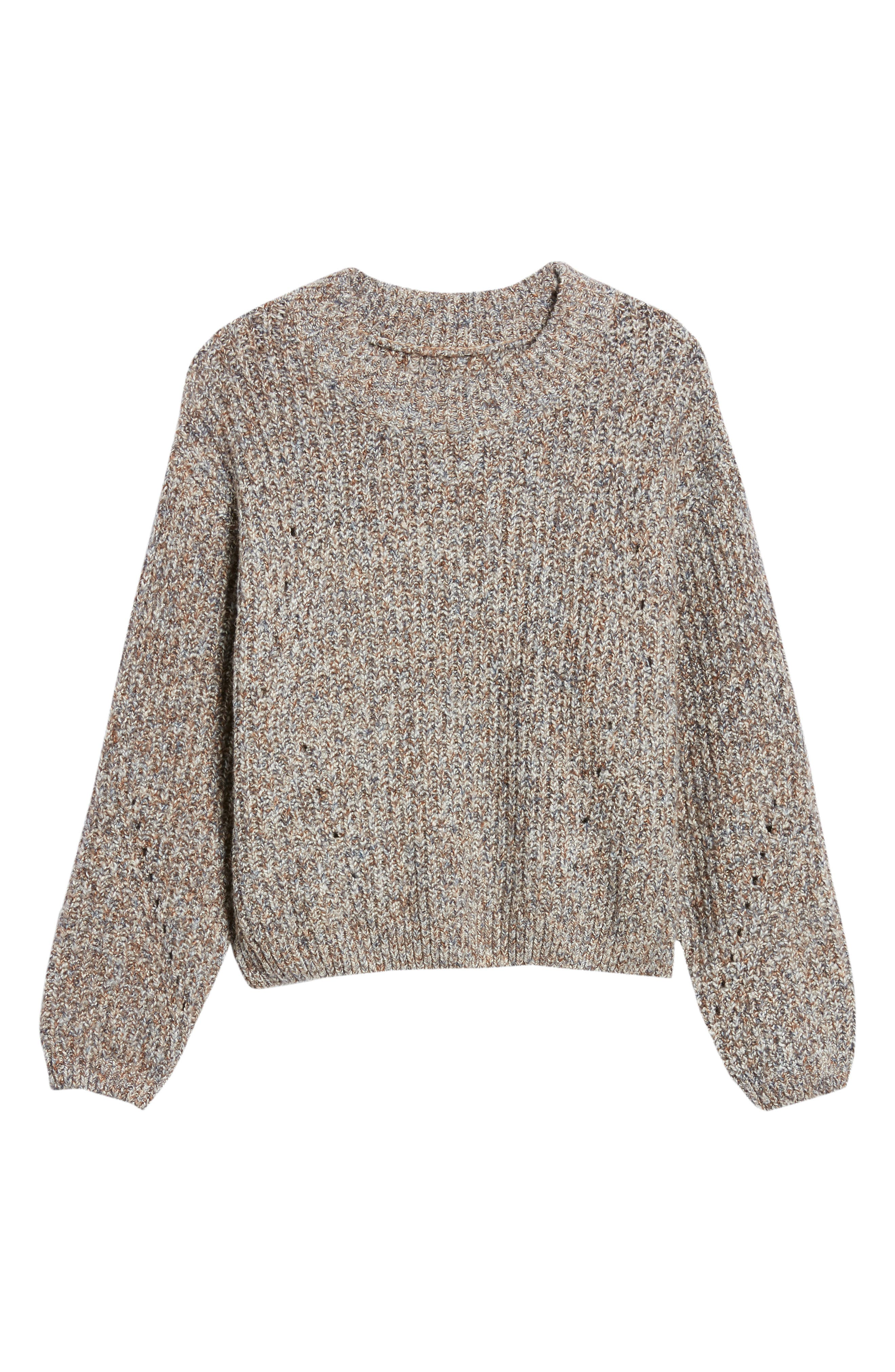 Heritage Stitch Sweater,                             Alternate thumbnail 6, color,                             021