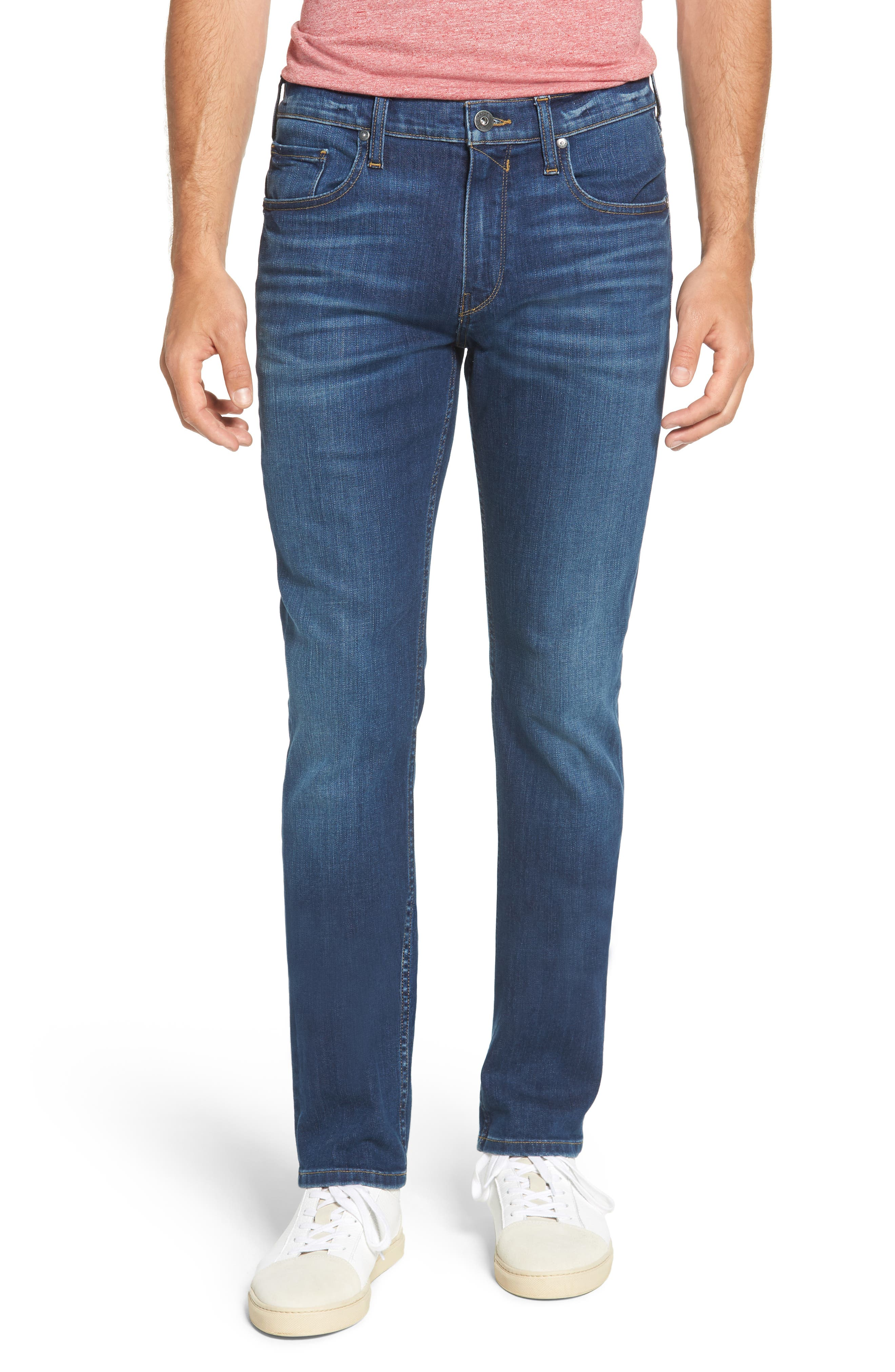 Federal Slim Straight Leg Jeans,                         Main,                         color, ASHBROOK