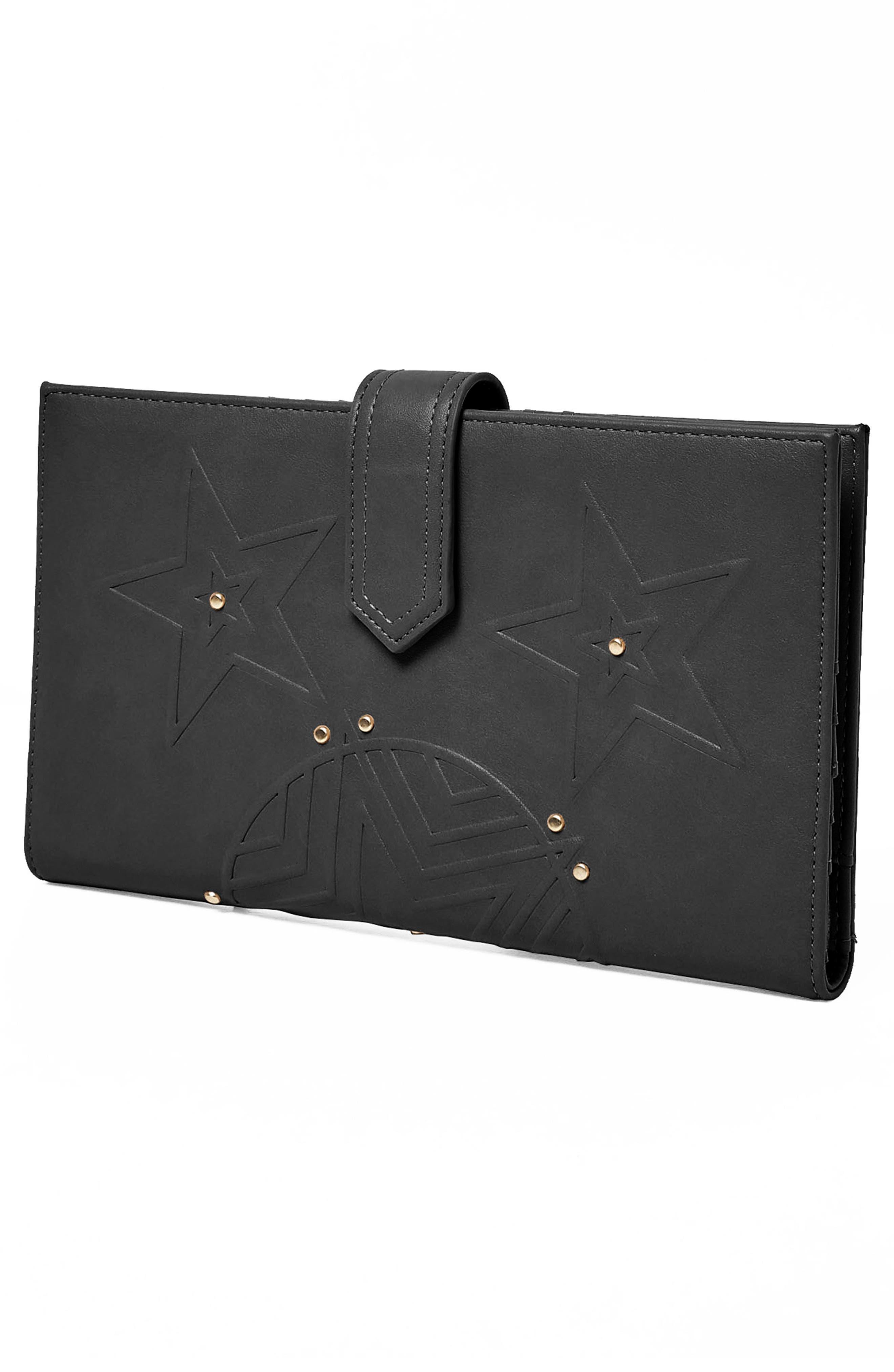 Starstruck Vegan Leather Wallet,                             Alternate thumbnail 7, color,