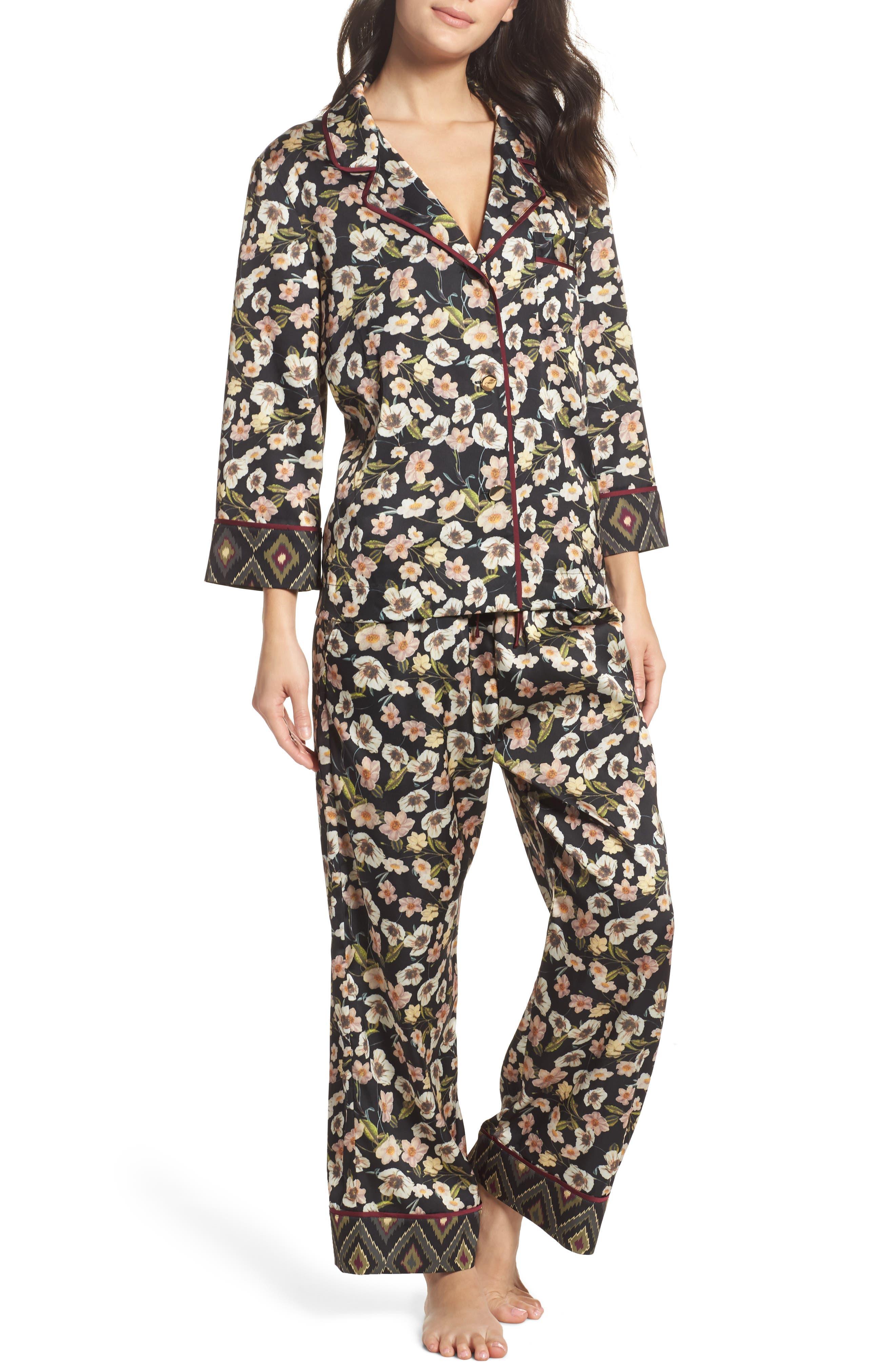 Print Pajamas,                             Main thumbnail 1, color,