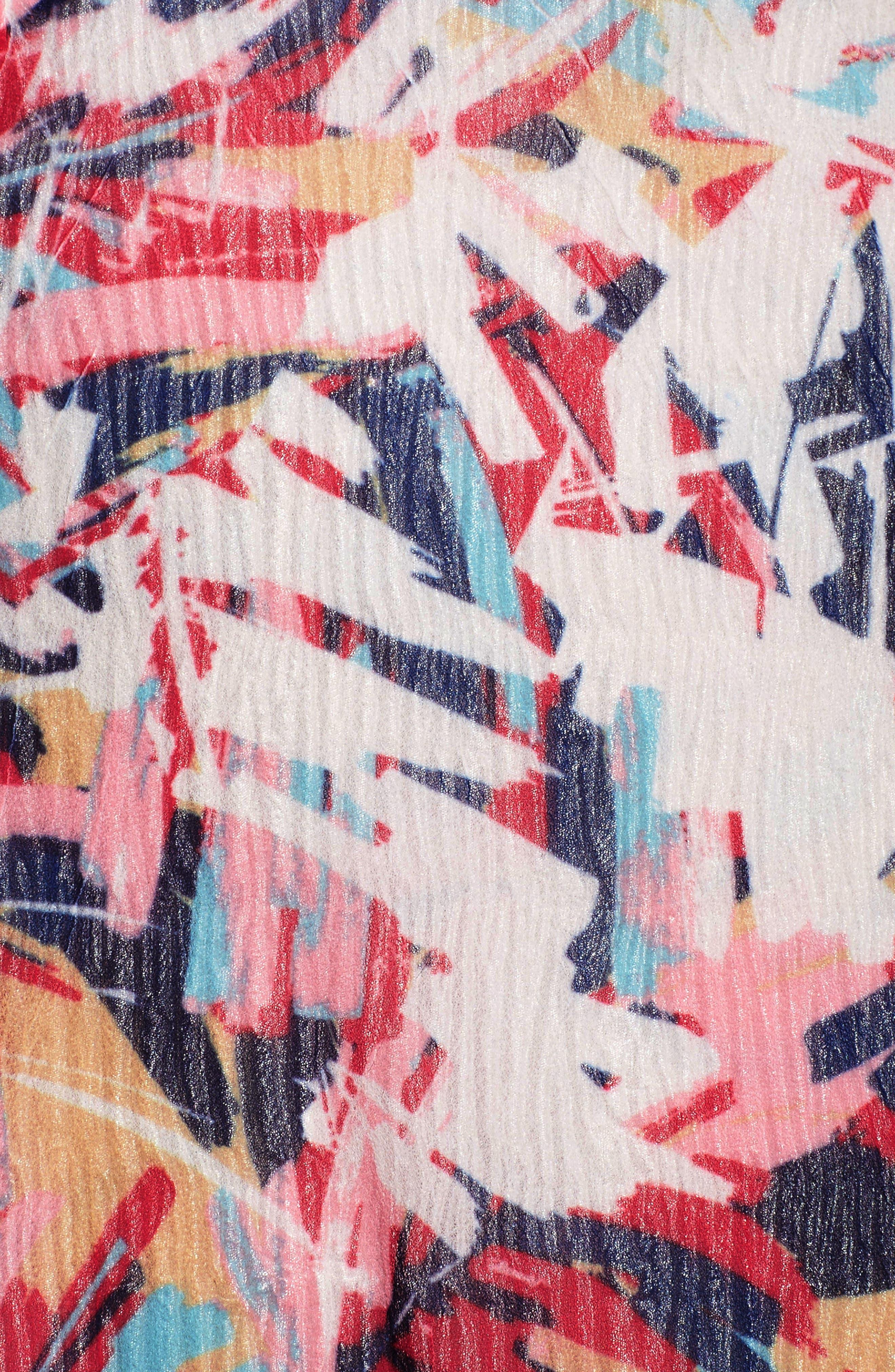 A-Line Dress,                             Alternate thumbnail 6, color,                             408