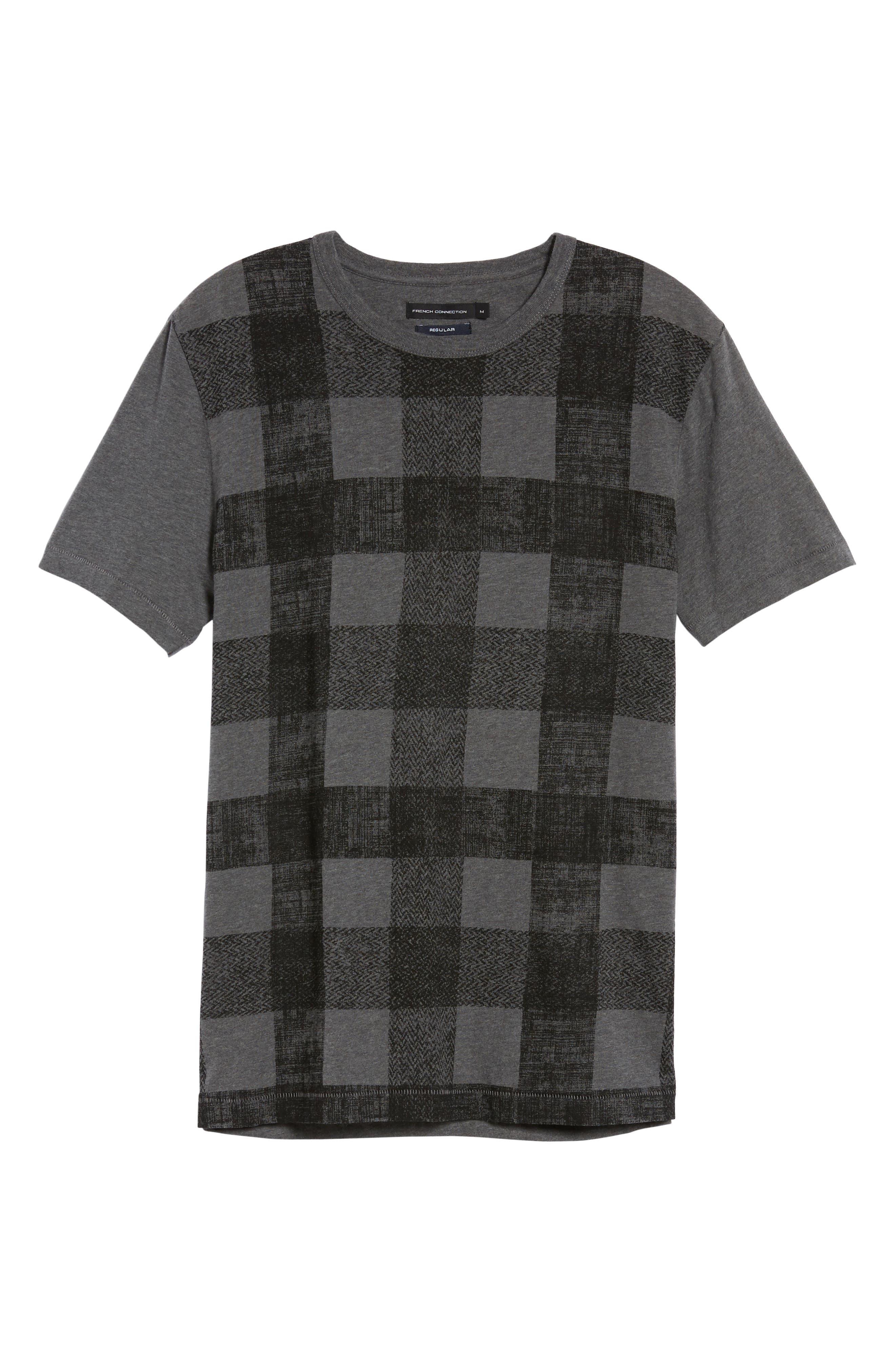 Texas Check Regular Fit T-Shirt,                             Alternate thumbnail 6, color,