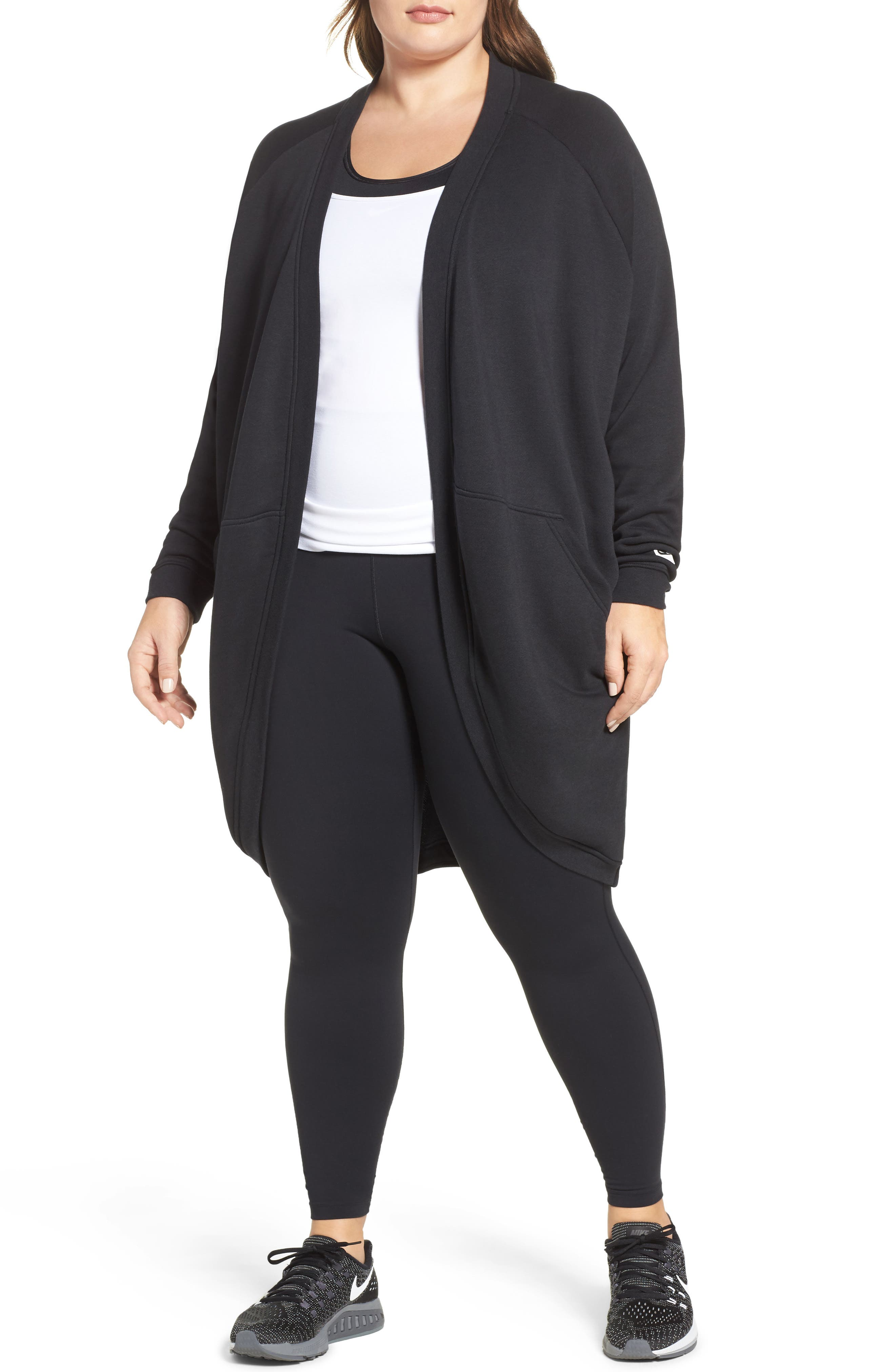 Sportswear Modern Cardigan,                             Main thumbnail 1, color,                             010