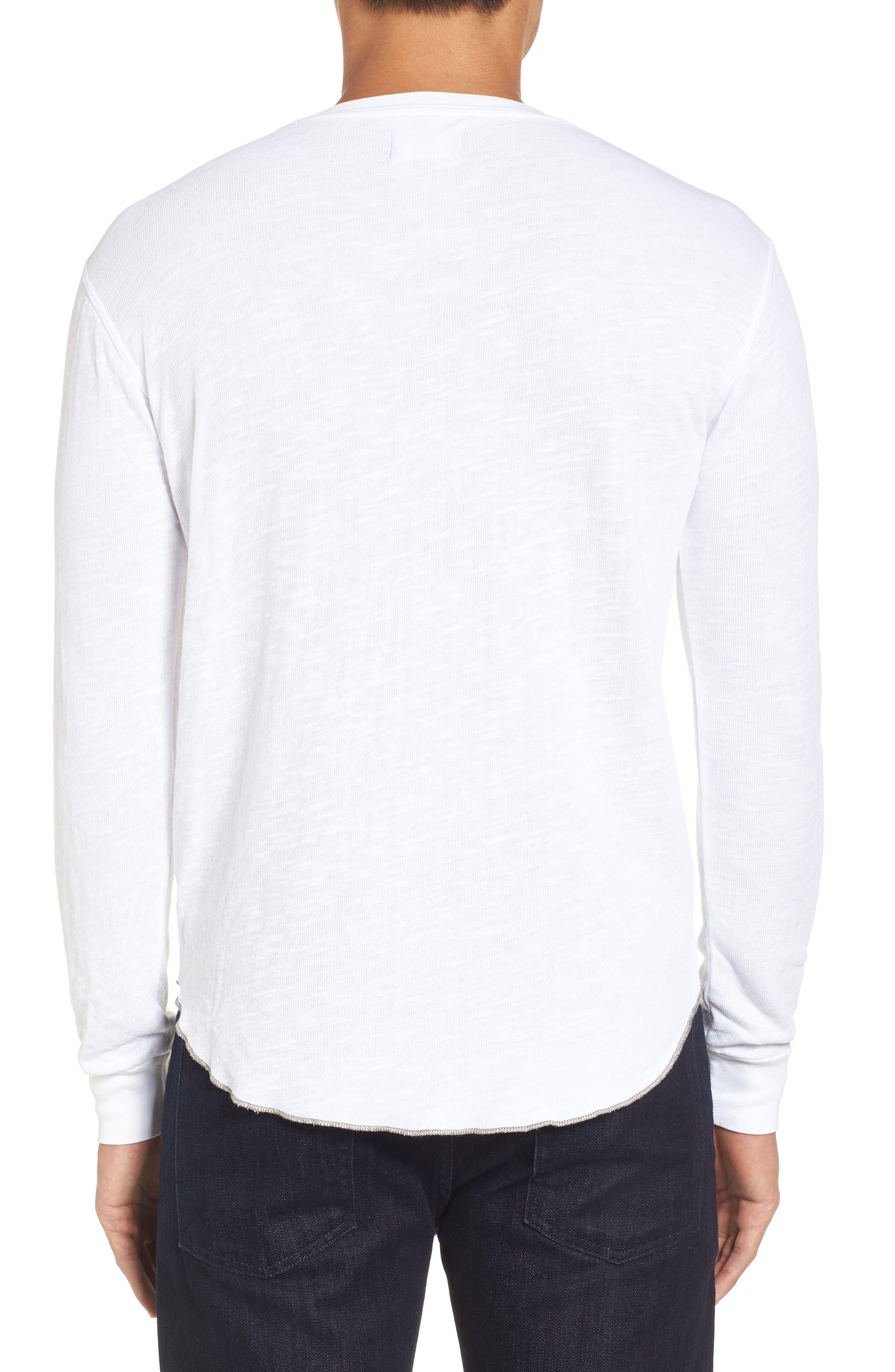 Double Layer Slim Crewneck T-Shirt,                             Alternate thumbnail 11, color,